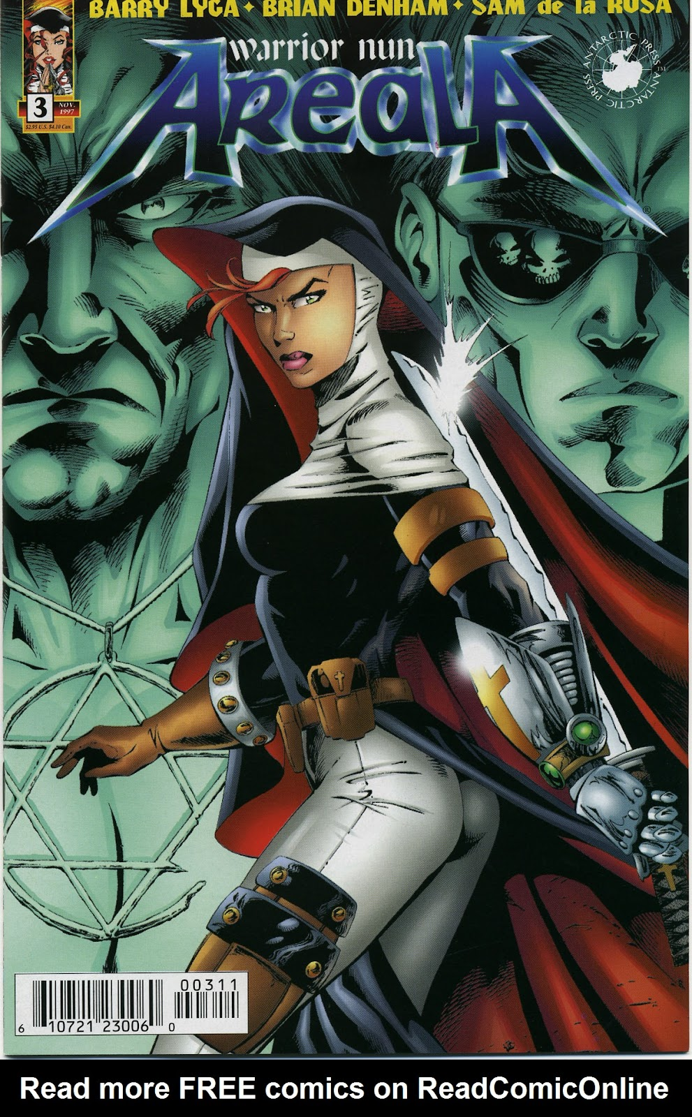 Warrior Nun Areala (1997) Issue #3 #3 - English 1