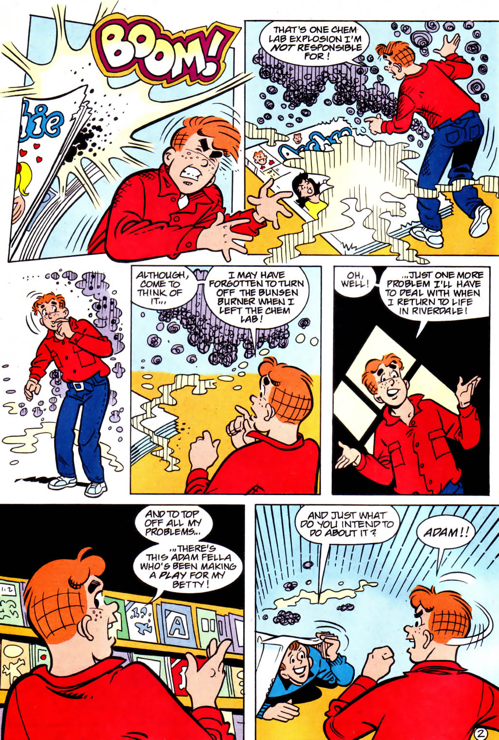 Read online Archie (1960) comic -  Issue #561 - 3