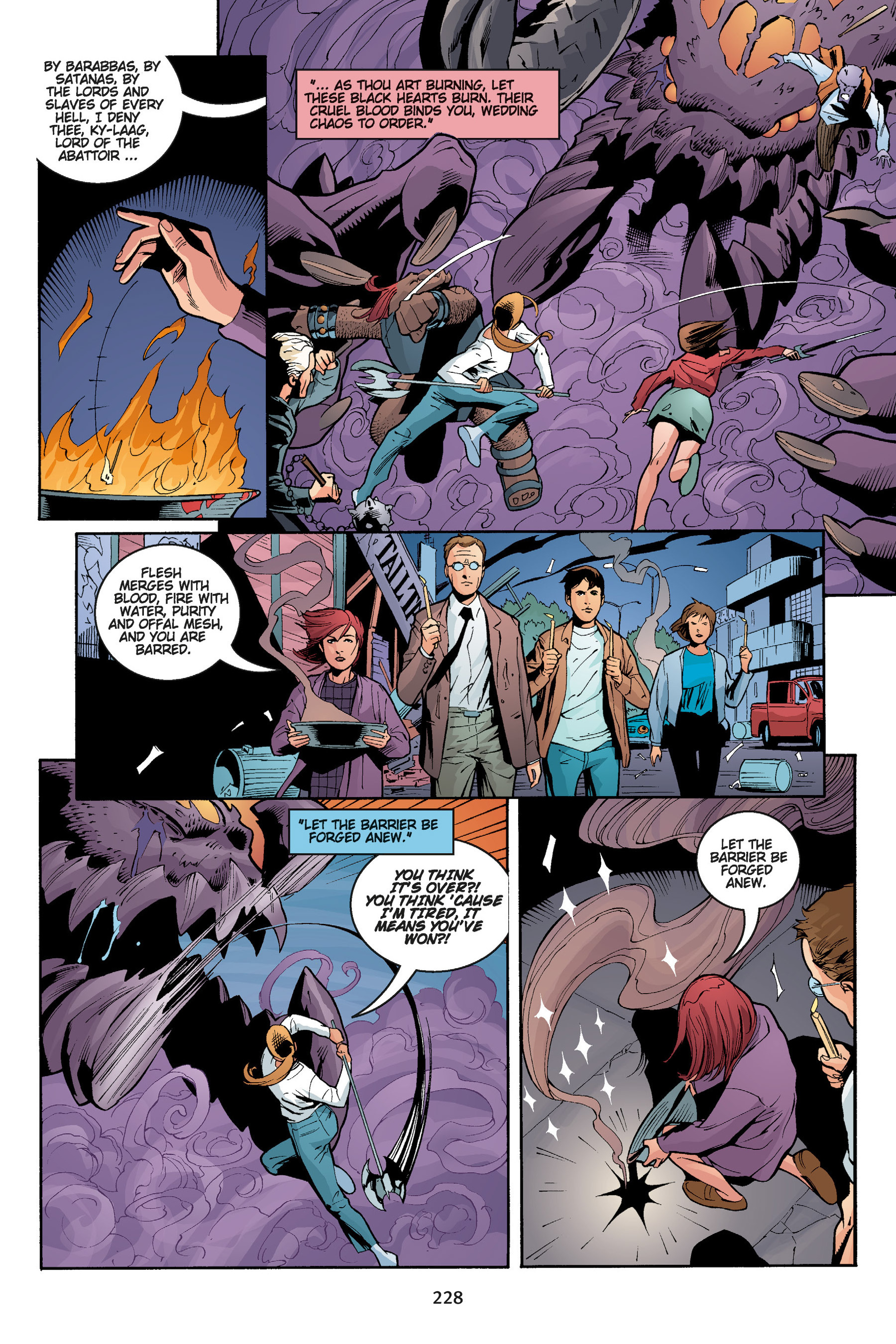 Read online Buffy the Vampire Slayer: Omnibus comic -  Issue # TPB 5 - 228