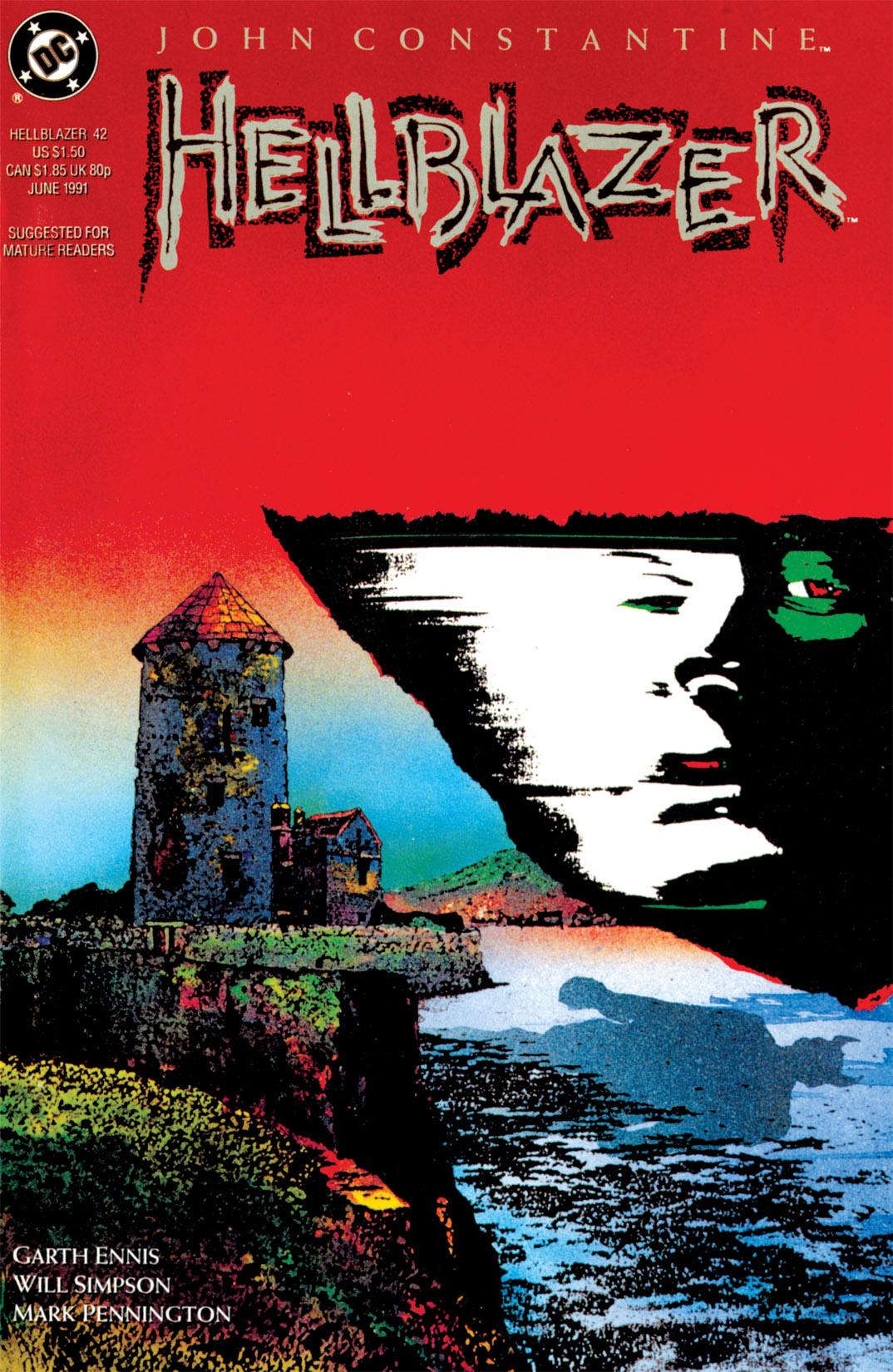 Hellblazer issue 42 - Page 1