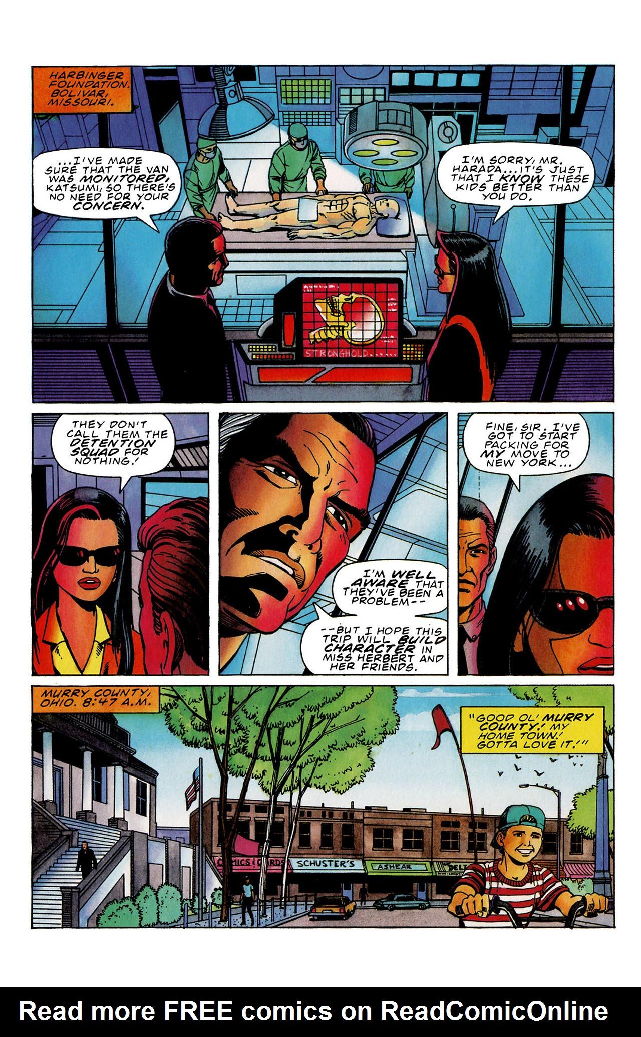 Read online Harbinger (1992) comic -  Issue #33 - 6