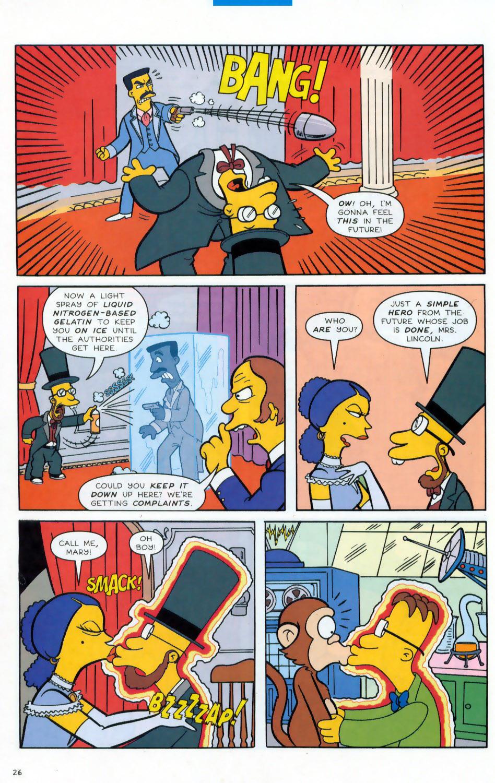Read online Simpsons Comics comic -  Issue #78 - 27