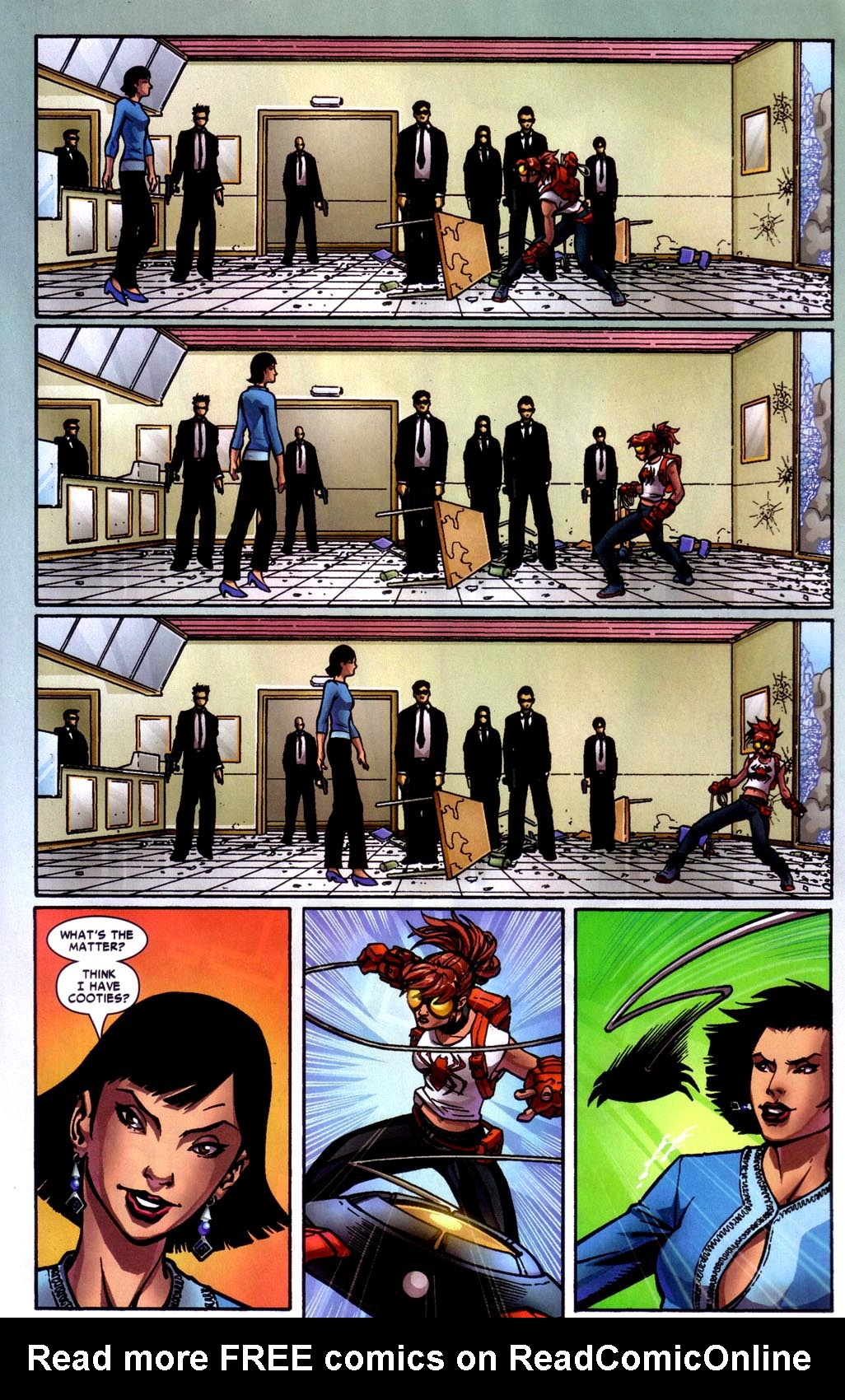 Read online Araña: Heart of the Spider comic -  Issue #7 - 19