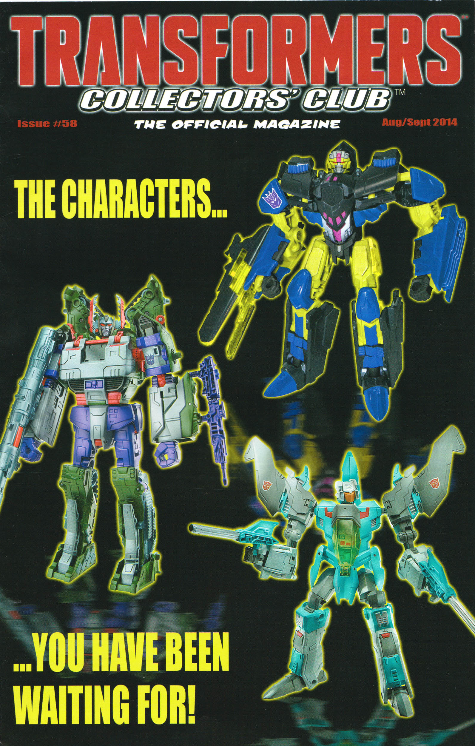Read online Transformers: Collectors' Club comic -  Issue #58 - 1