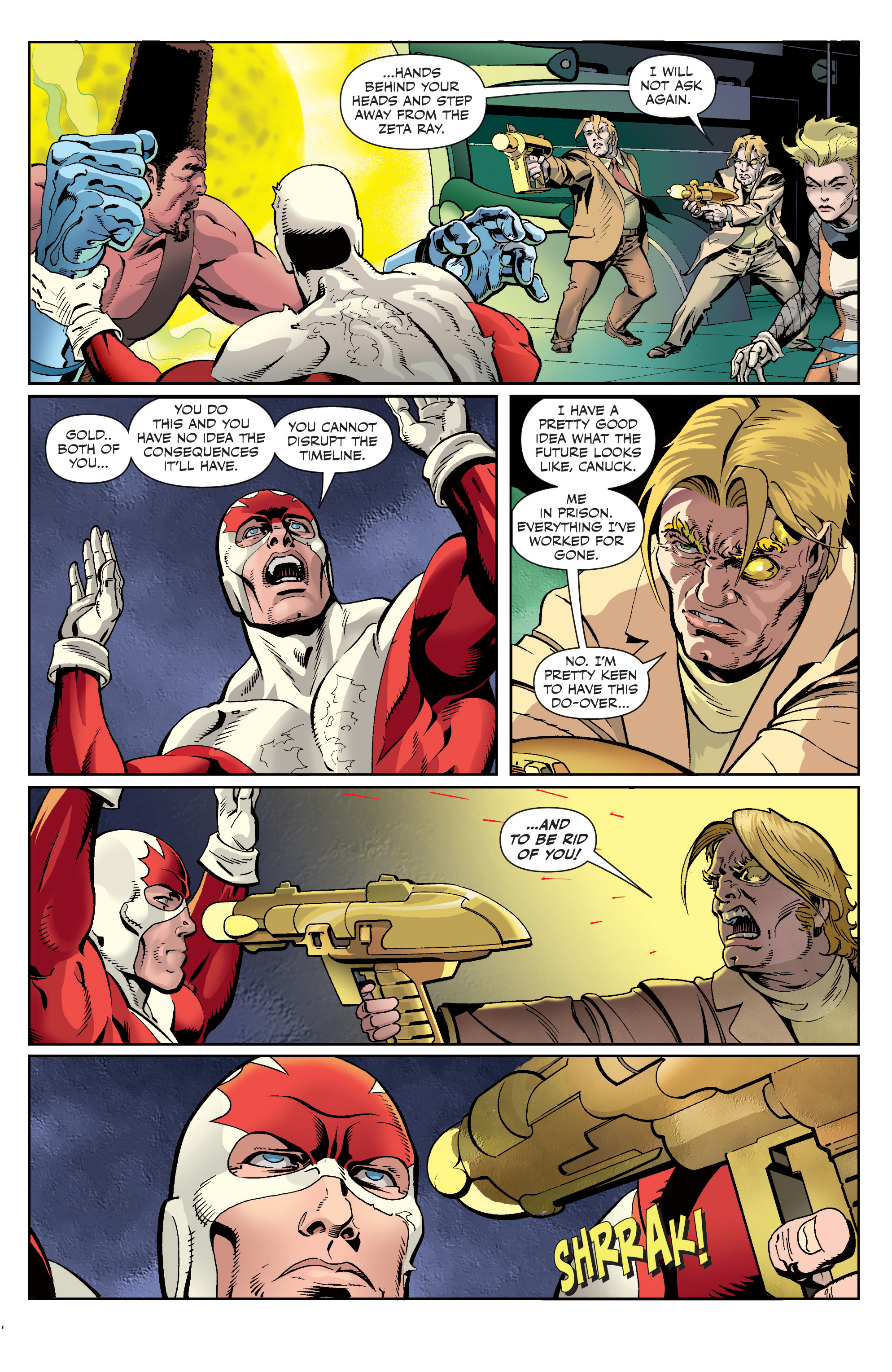 Read online All-New Classic Captain Canuck comic -  Issue #4 - 15