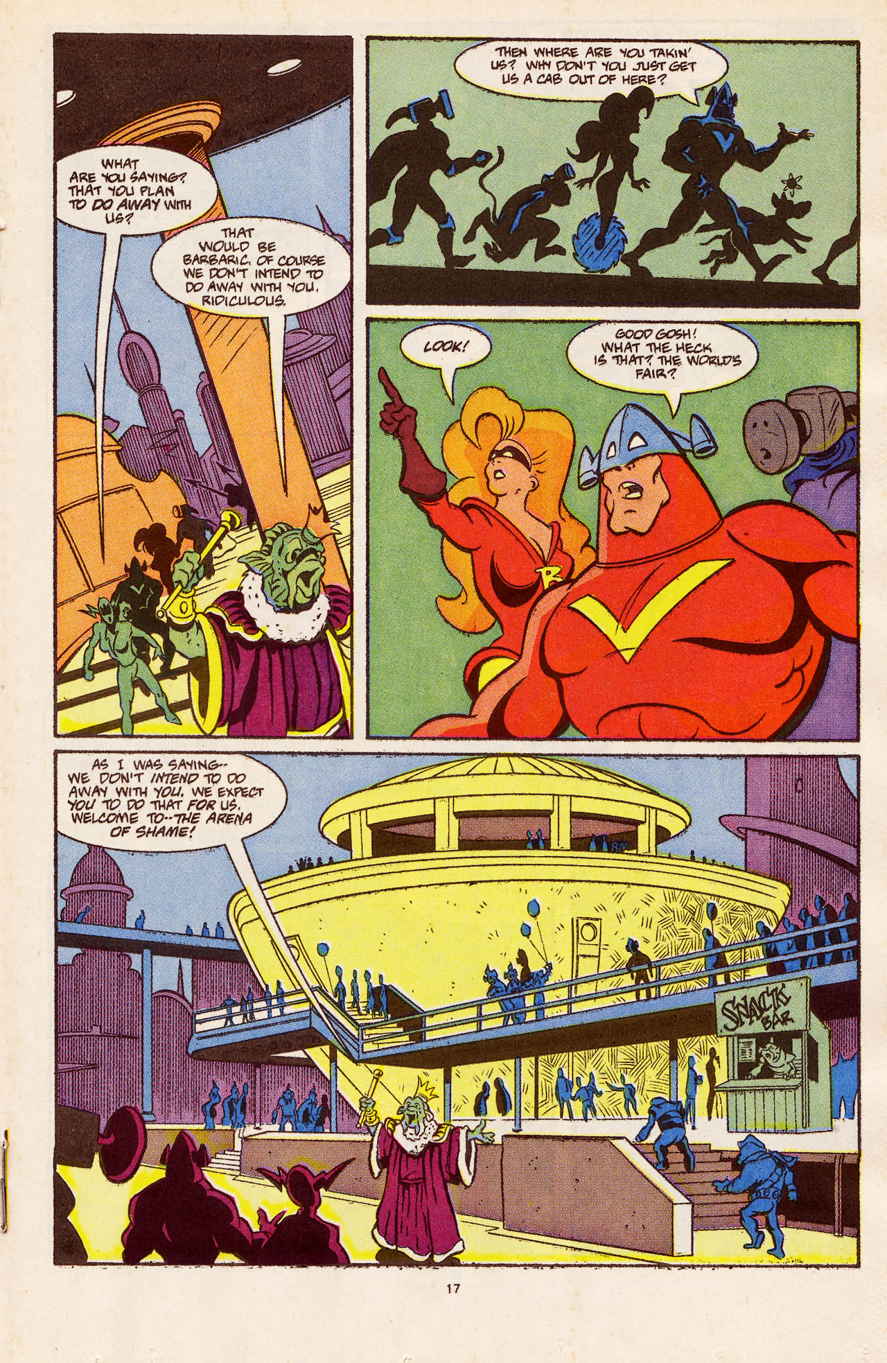 Read online Defenders of Dynatron City comic -  Issue #4 - 19