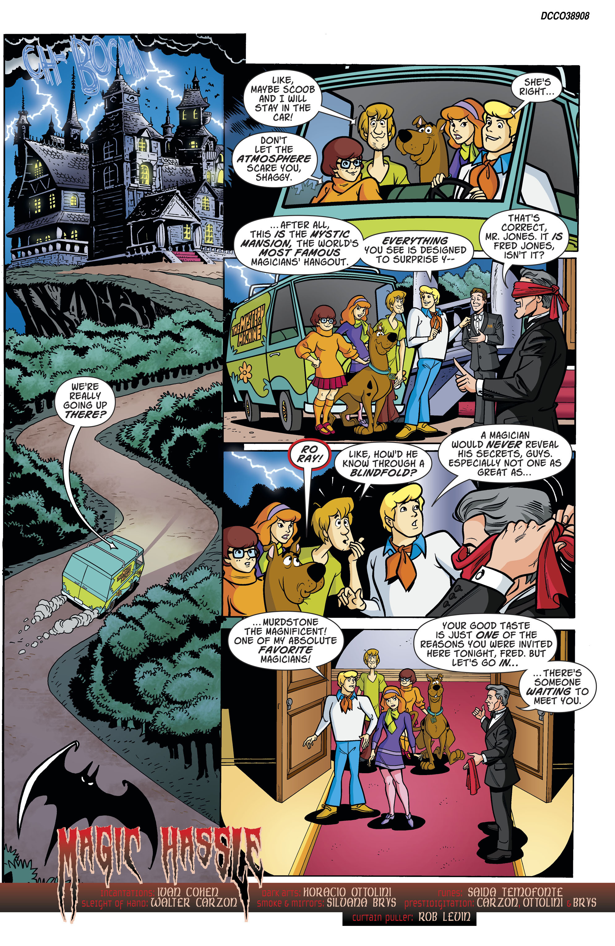 Read online Scooby-Doo: Where Are You? comic -  Issue #79 - 2