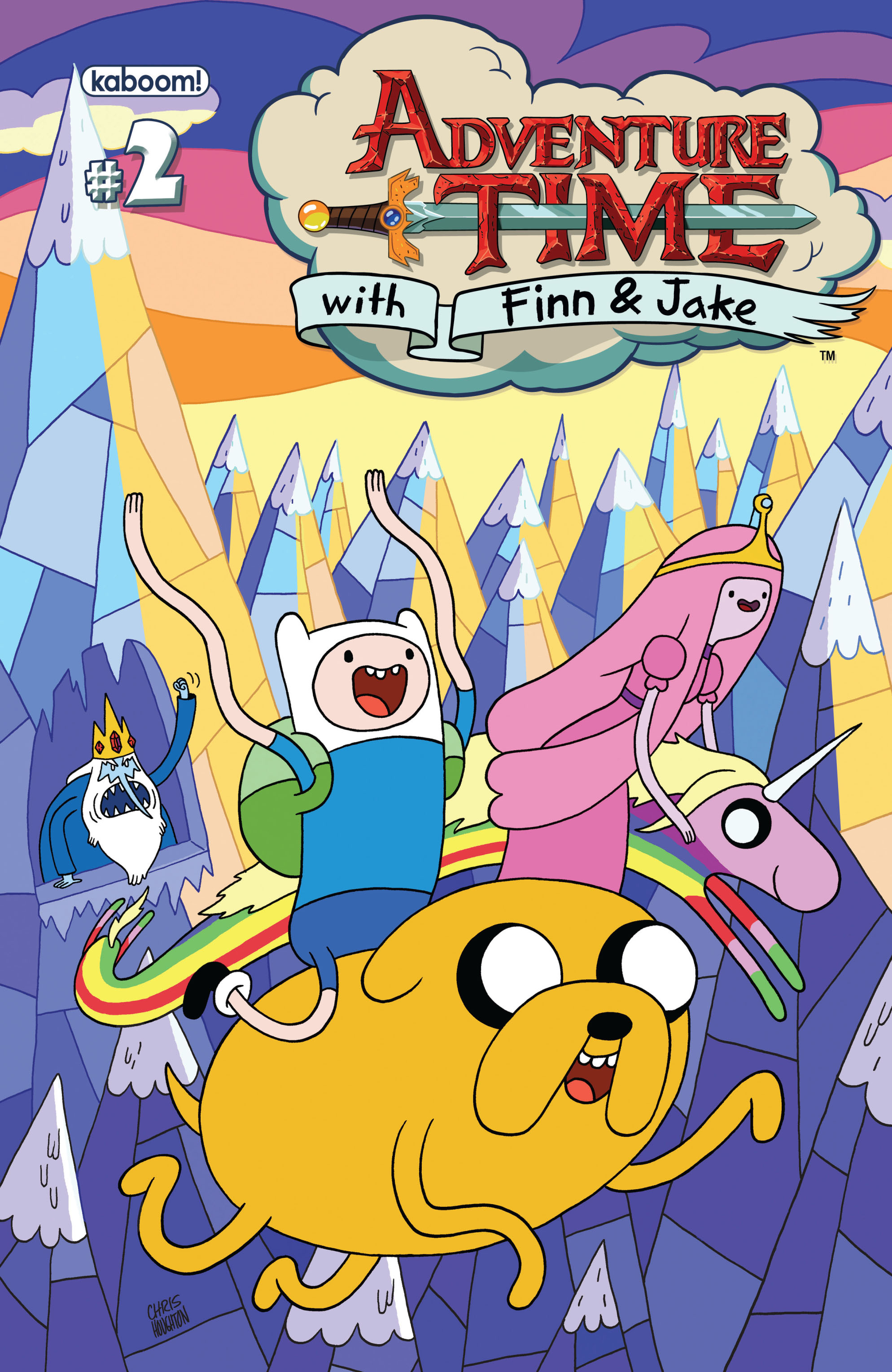 Read online Adventure Time comic -  Issue #2 - 1