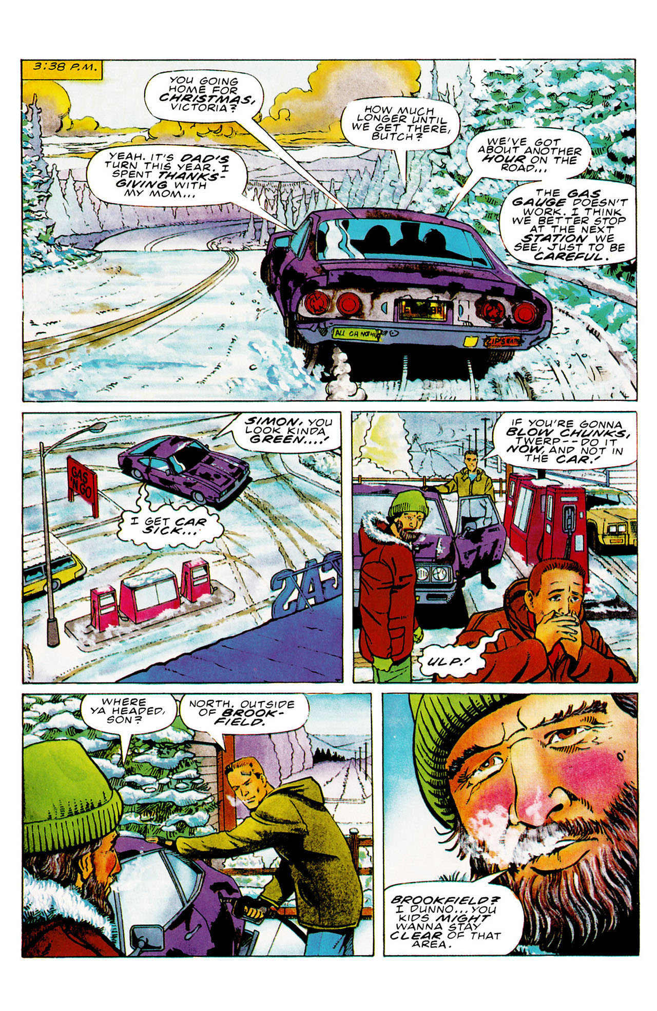 Read online Harbinger (1992) comic -  Issue #27 - 6