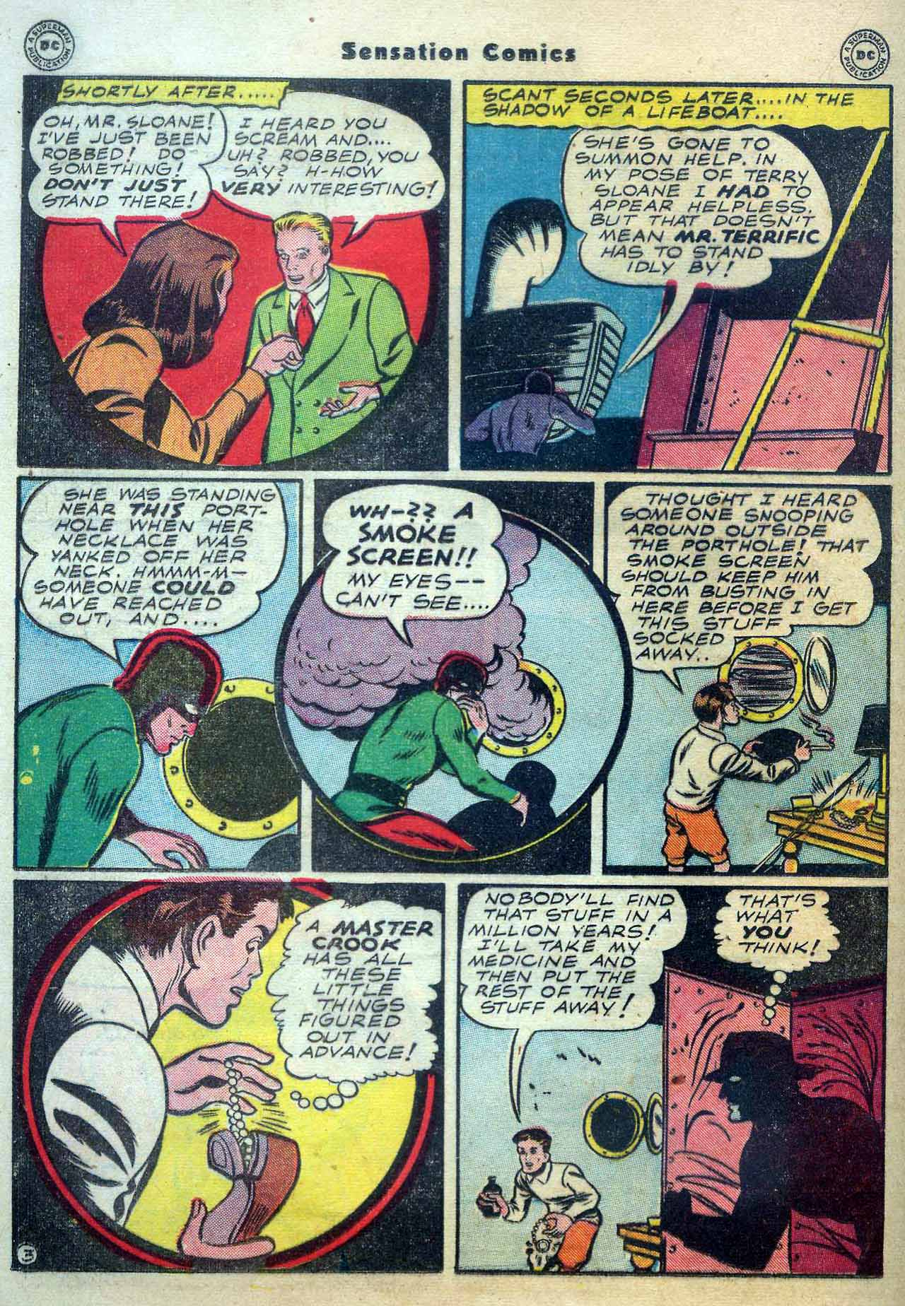 Read online Sensation (Mystery) Comics comic -  Issue #56 - 34