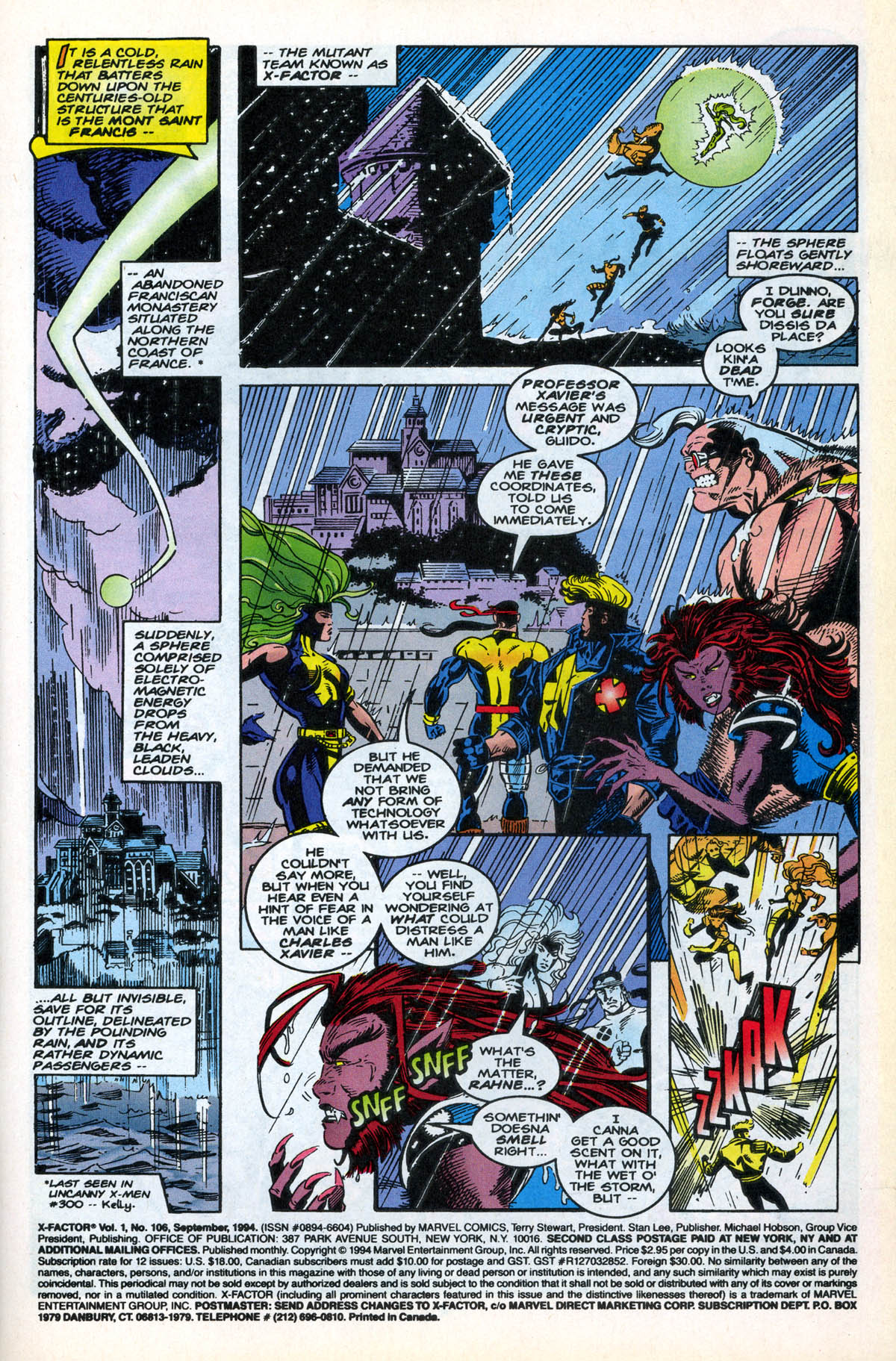 Read online X-Factor (1986) comic -  Issue #106 - 4