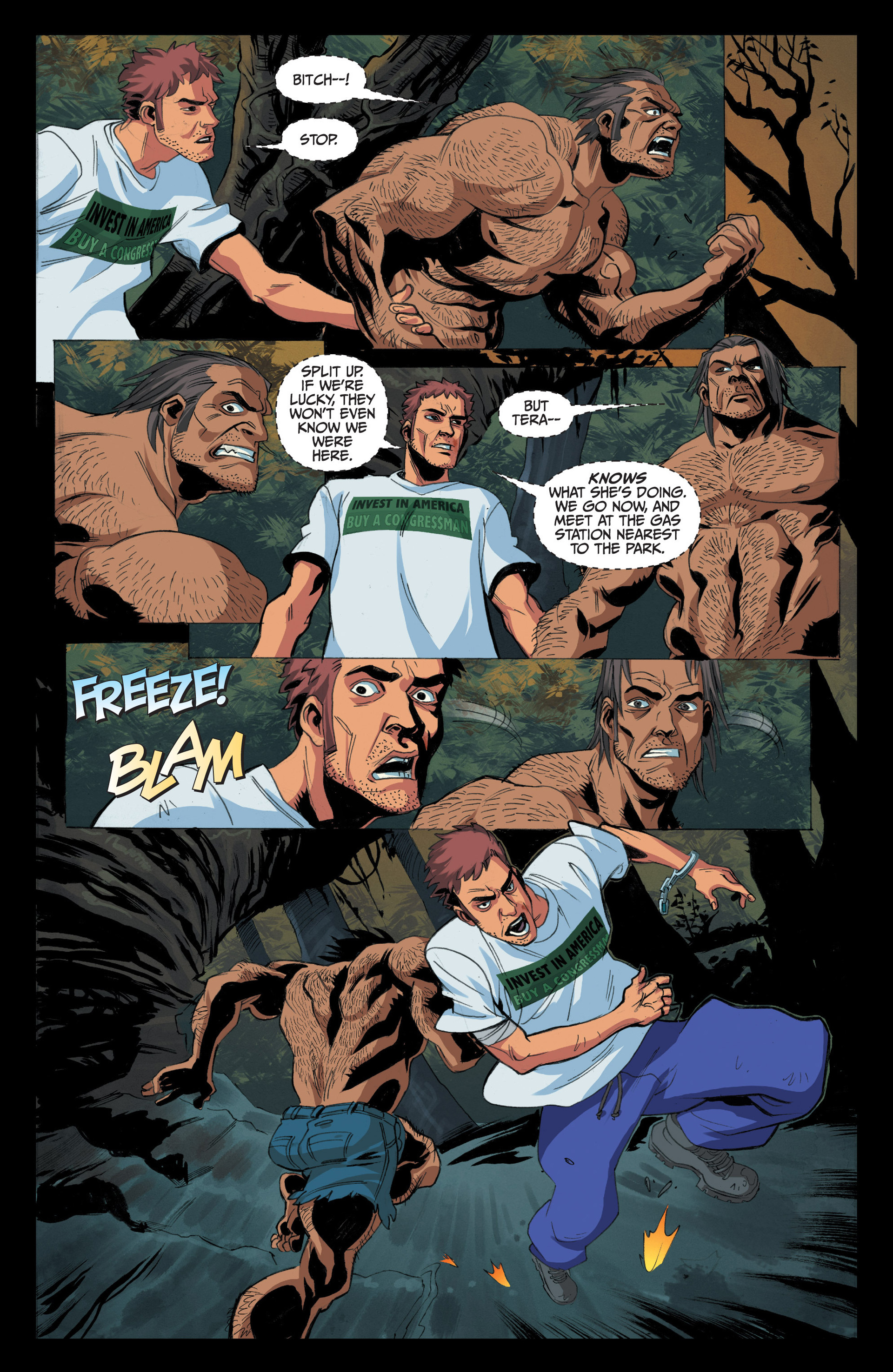 Read online Jim Butcher's The Dresden Files: Fool Moon comic -  Issue #4 - 20