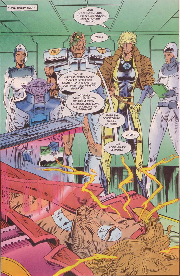 Read online Cyberspace 3000 comic -  Issue #8 - 18