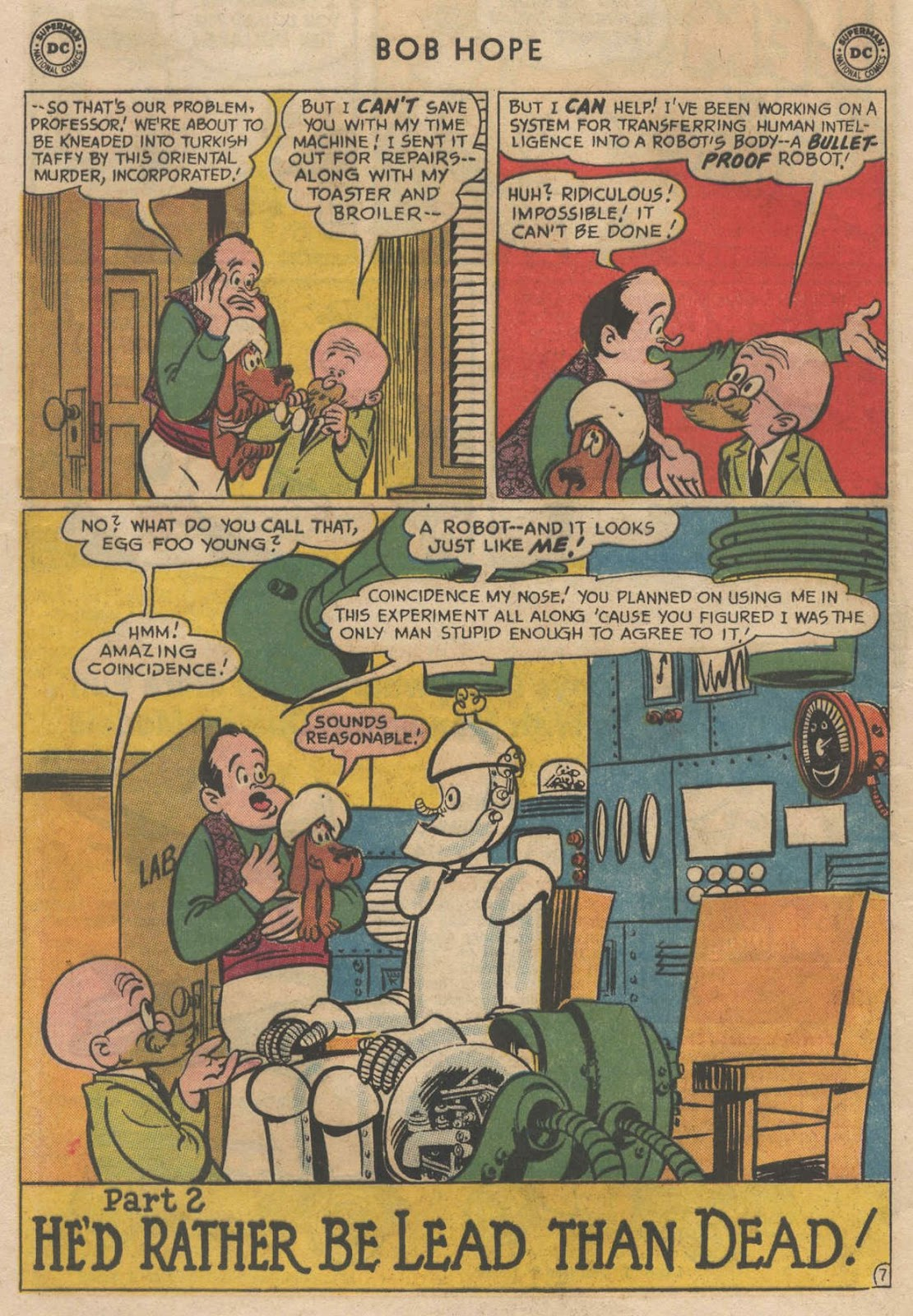 The Adventures of Bob Hope issue 90 - Page 12