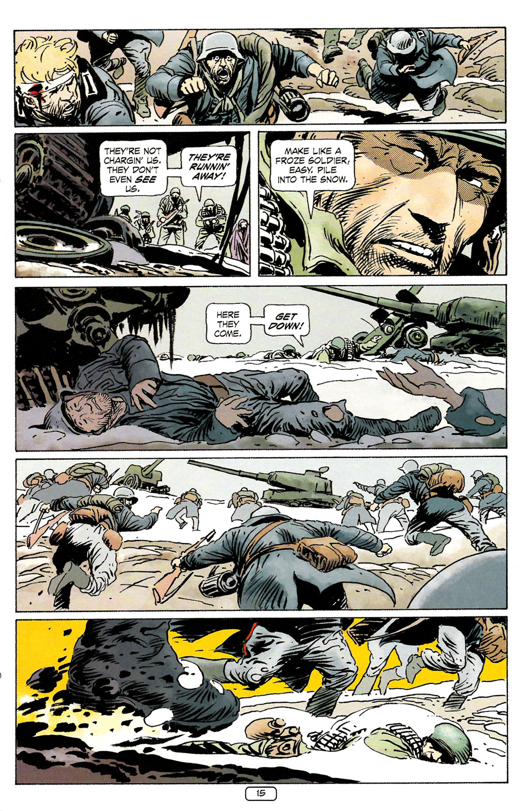 Read online Sgt. Rock: The Prophecy comic -  Issue #4 - 15