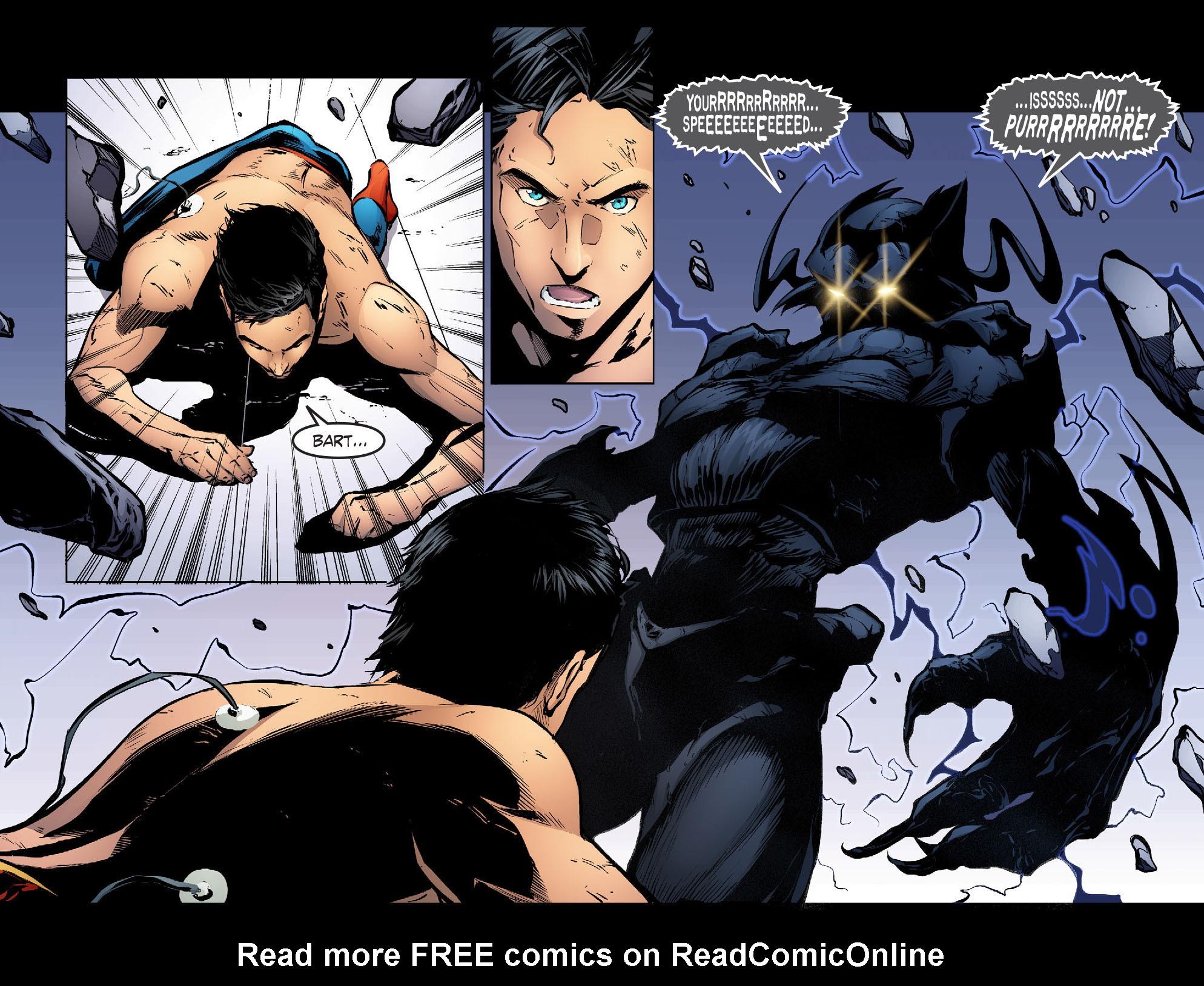 Read online Smallville: Season 11 comic -  Issue #30 - 21