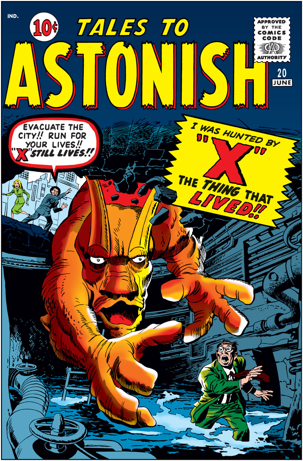 Tales to Astonish (1959) issue 20 - Page 1
