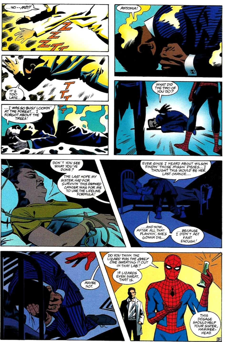Read online Spider-Man: Lifeline comic -  Issue #3 - 21