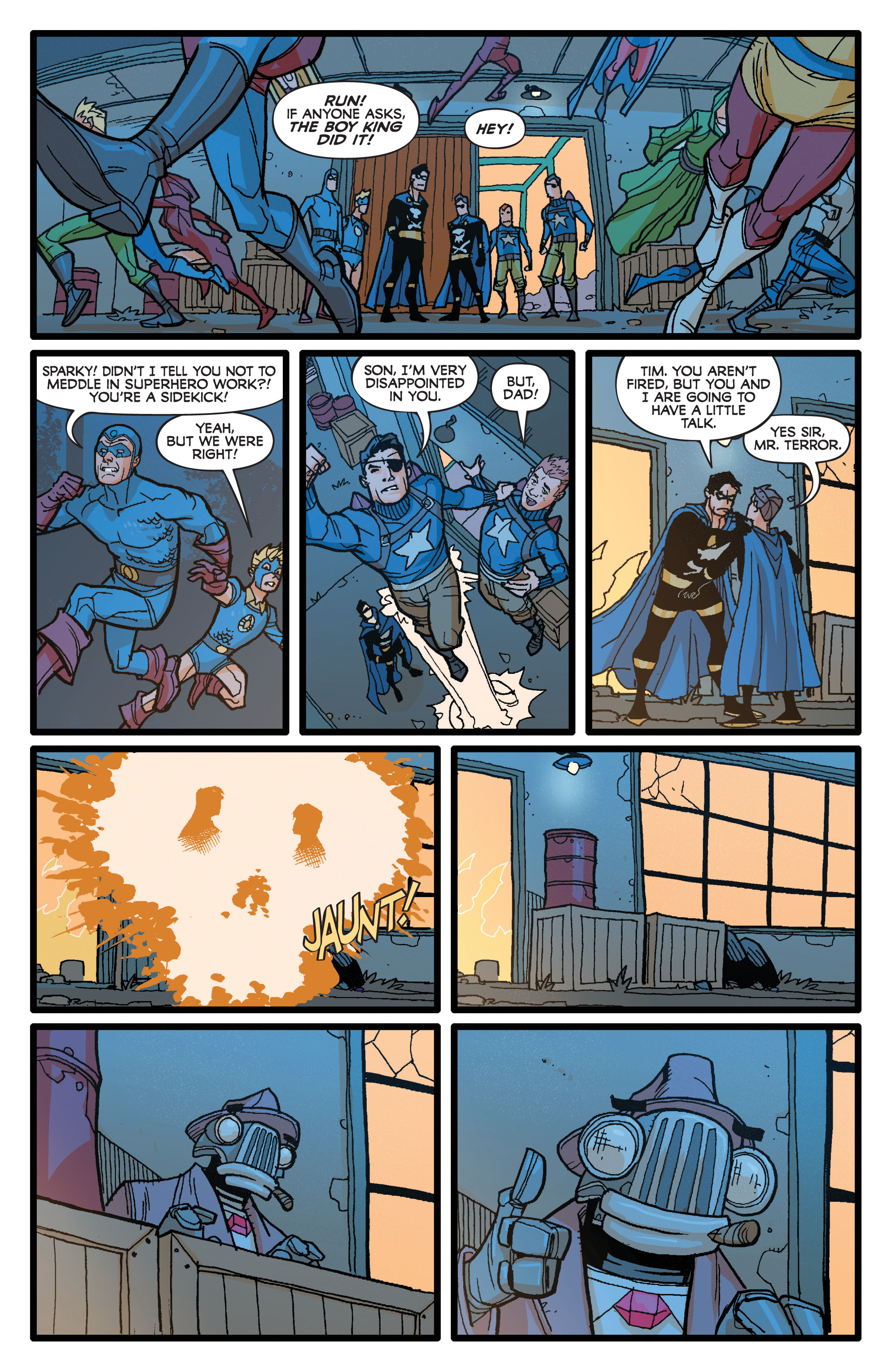 Read online Project Superpowers: Hero Killers comic -  Issue #1 - 13