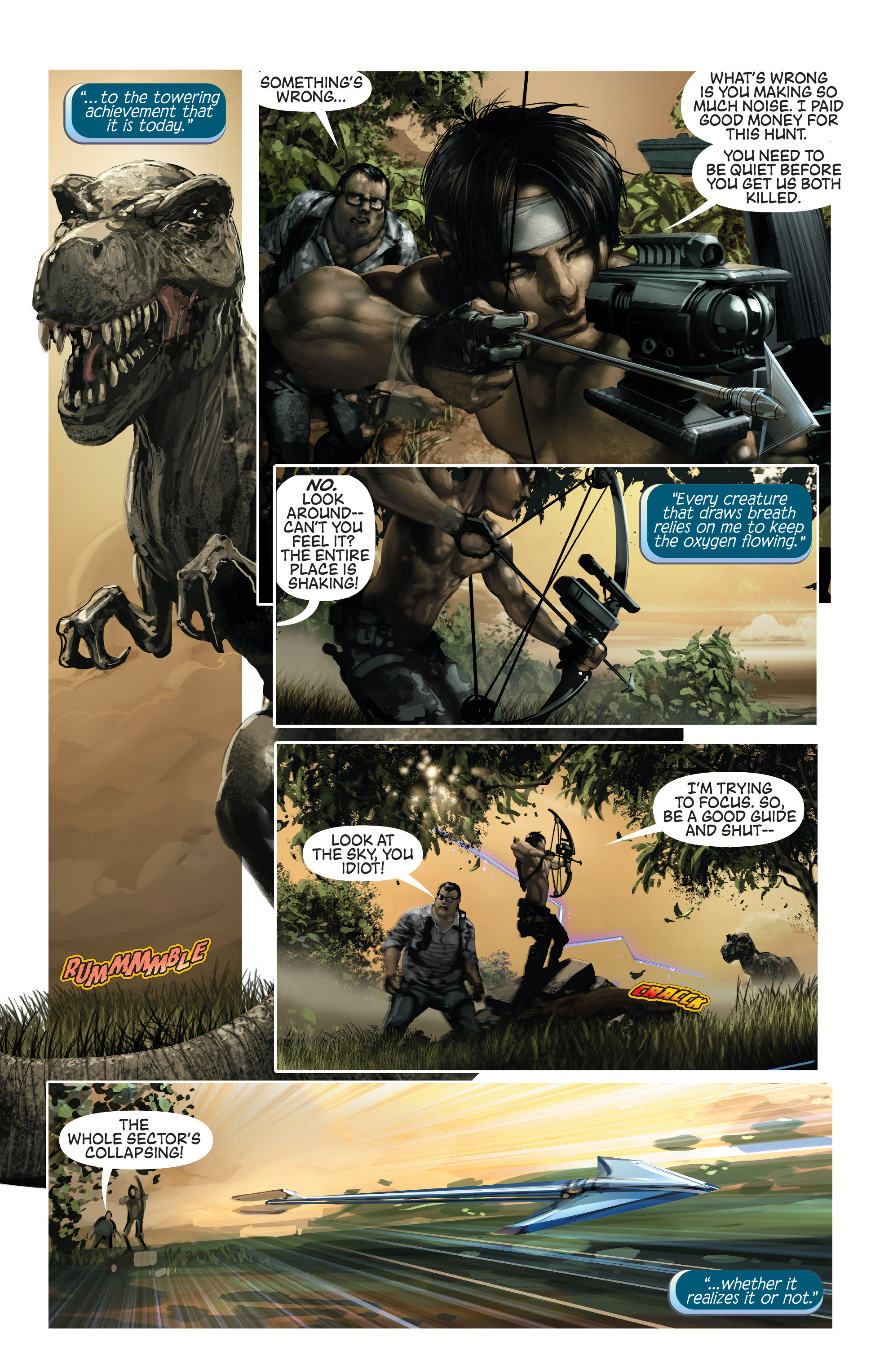 Read online 4001 A.D. comic -  Issue #1 - 7