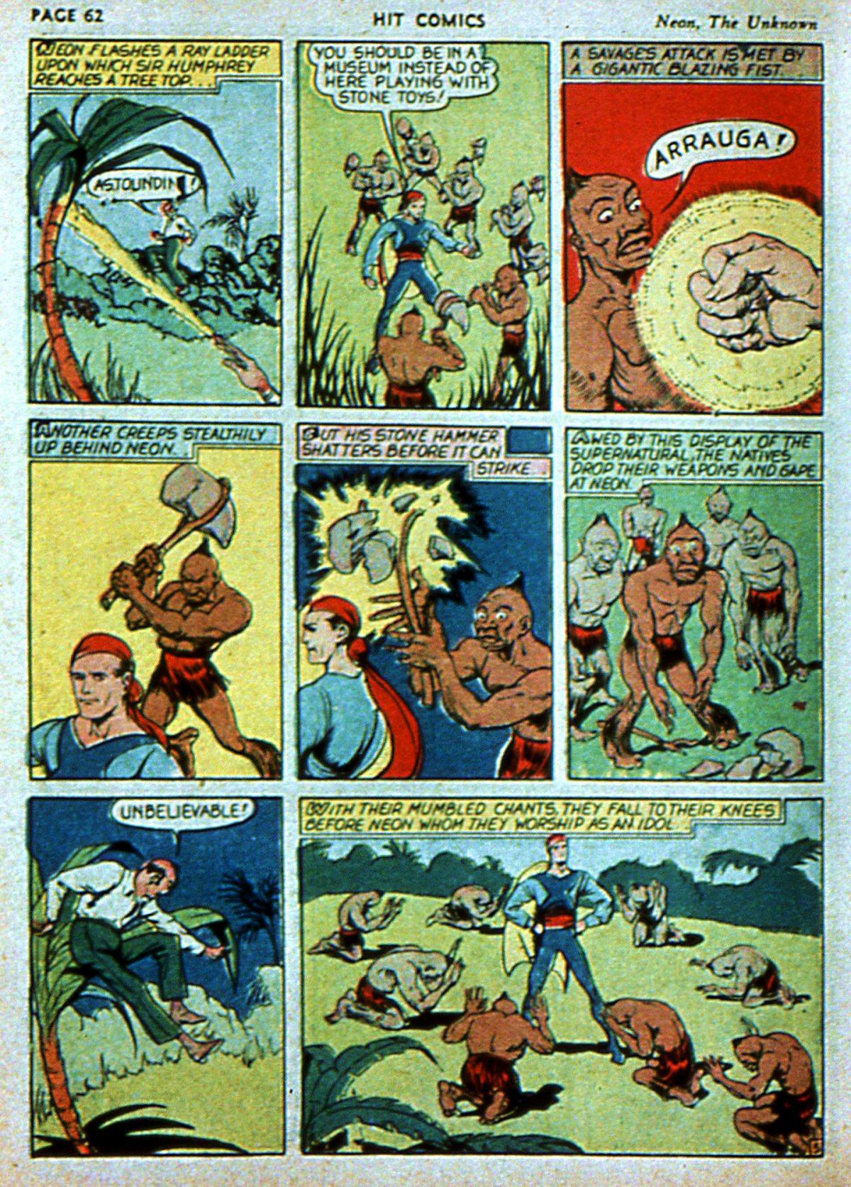 Read online Hit Comics comic -  Issue #3 - 64