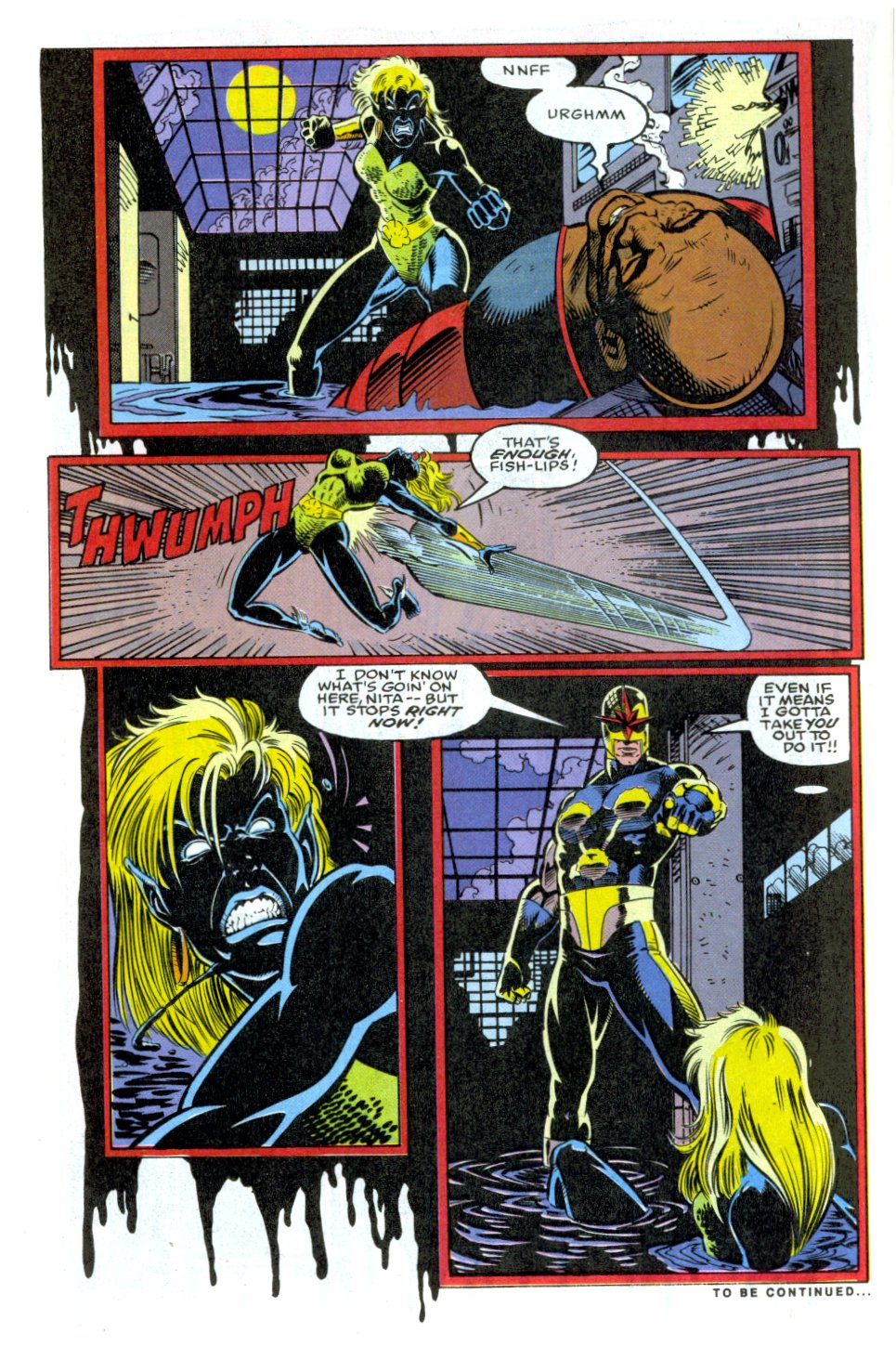 The New Warriors Issue #32 #36 - English 23