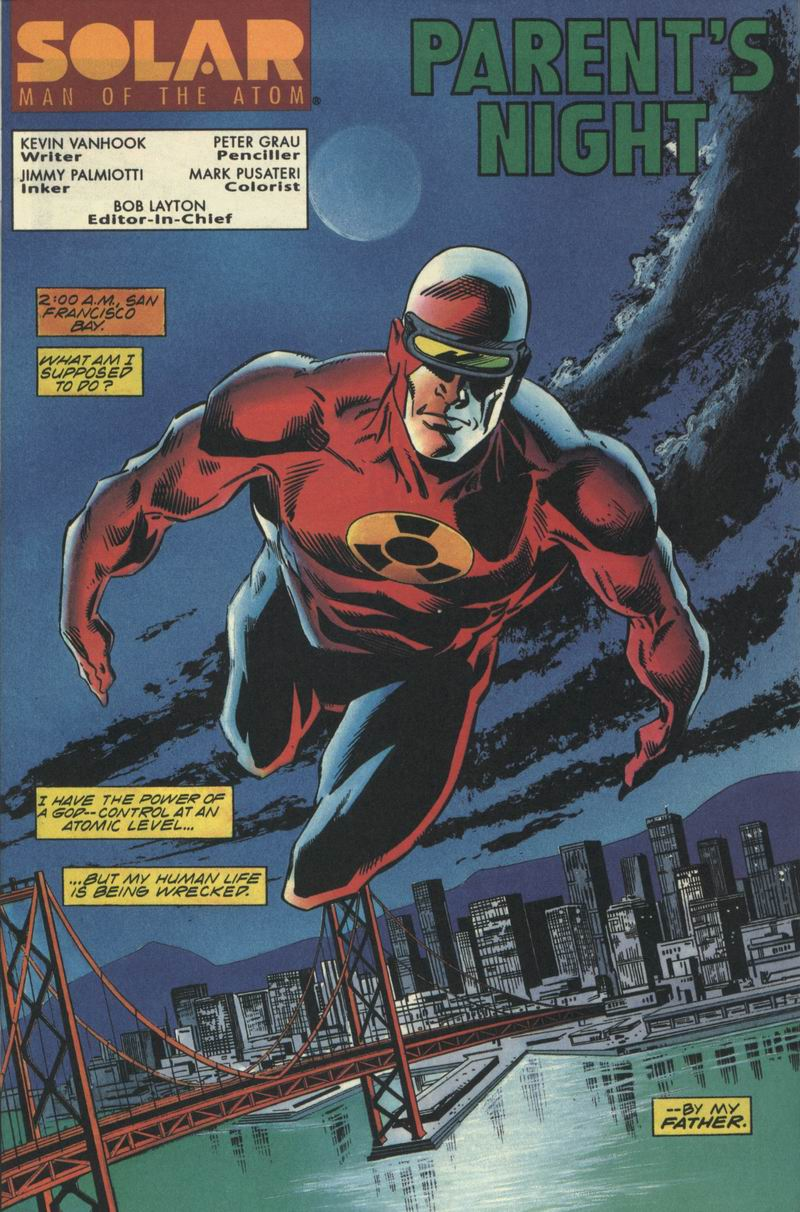 Read online Solar, Man of the Atom comic -  Issue #32 - 2