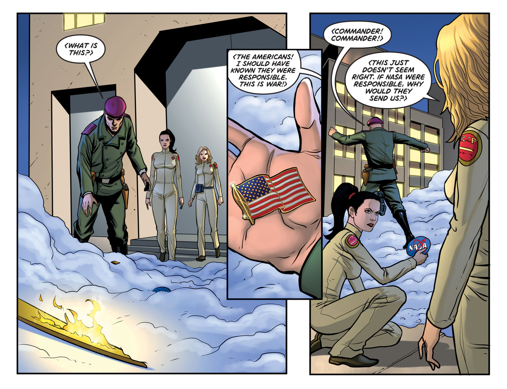 Read online Wonder Woman '77 [I] comic -  Issue #26 - 19
