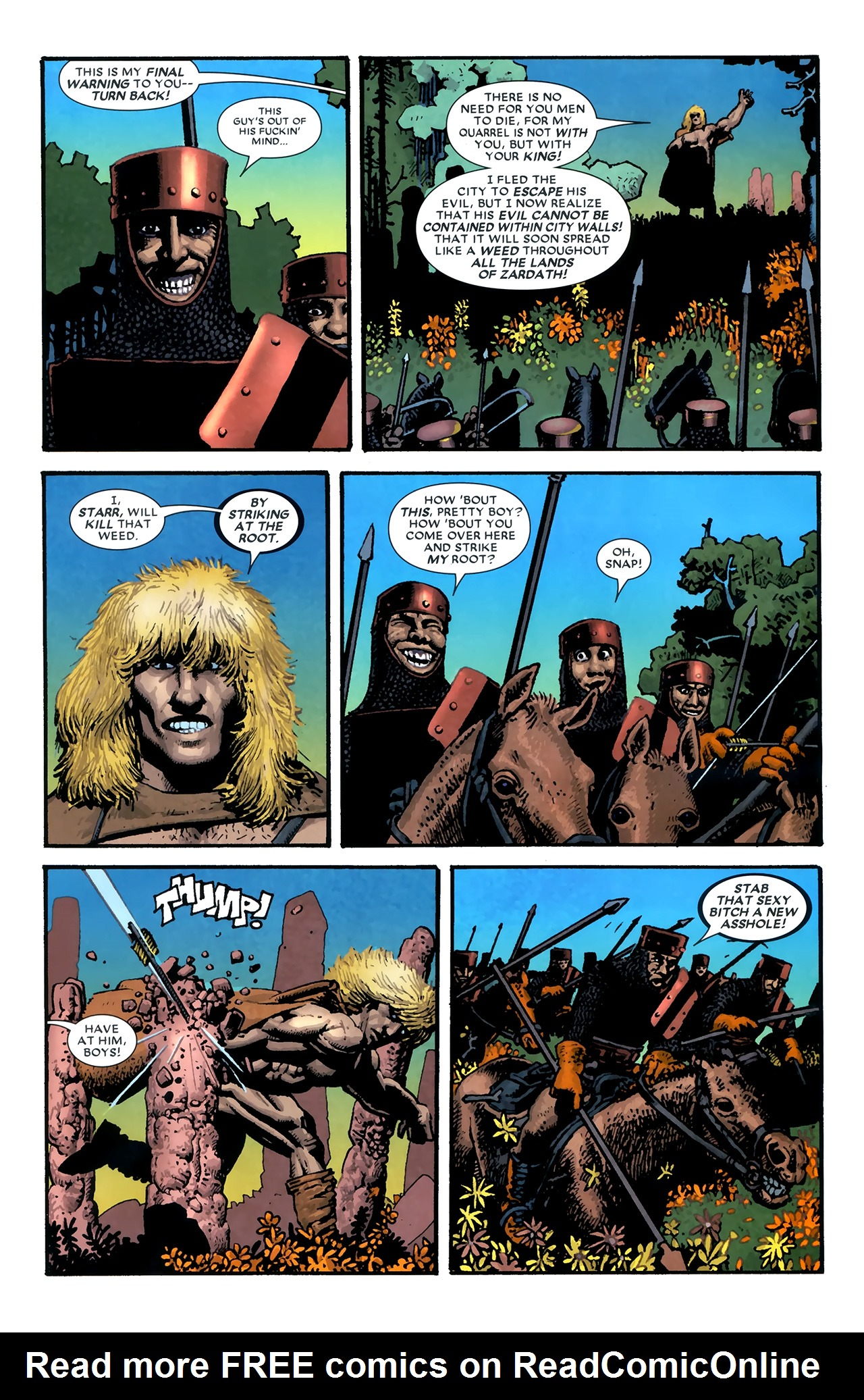 Read online Starr the Slayer comic -  Issue #3 - 22