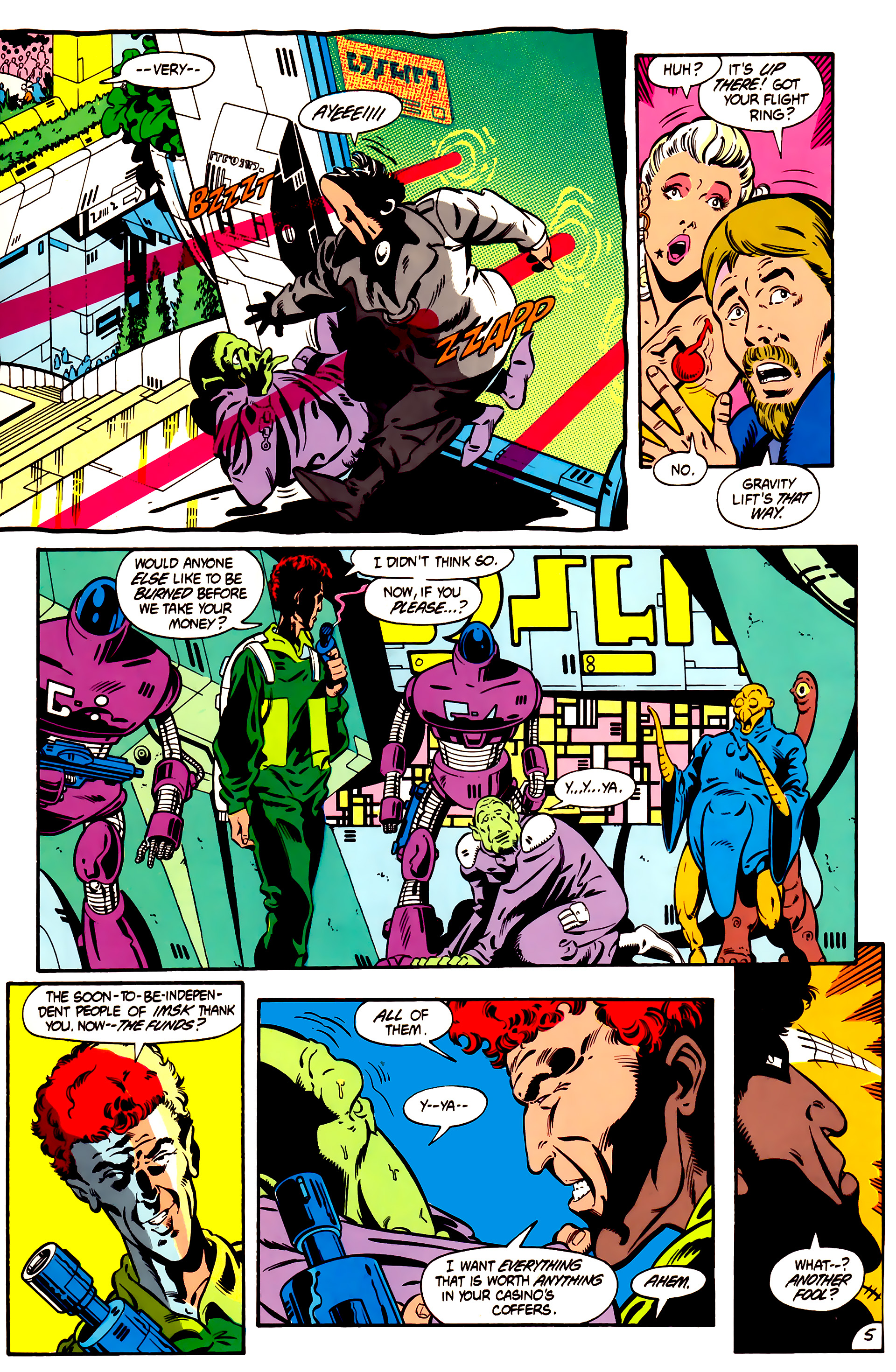 Legion of Super-Heroes (1984) 1 Page 6