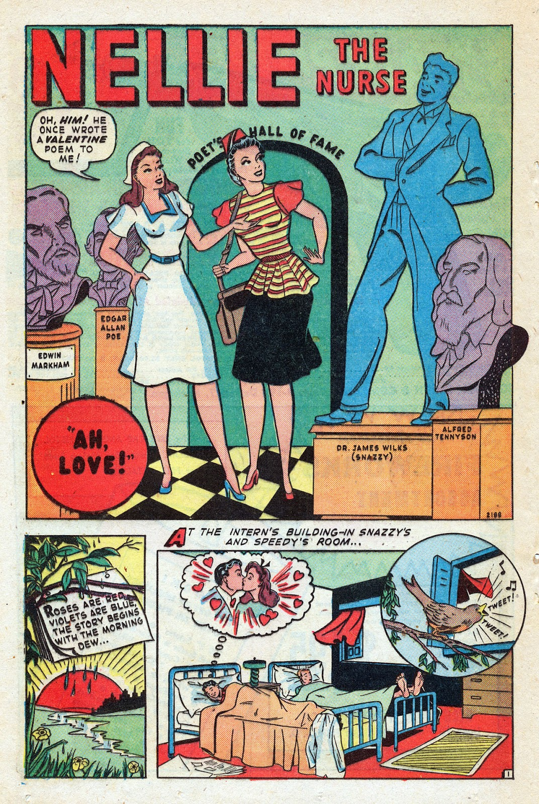 Read online Nellie The Nurse (1945) comic -  Issue #14 - 32