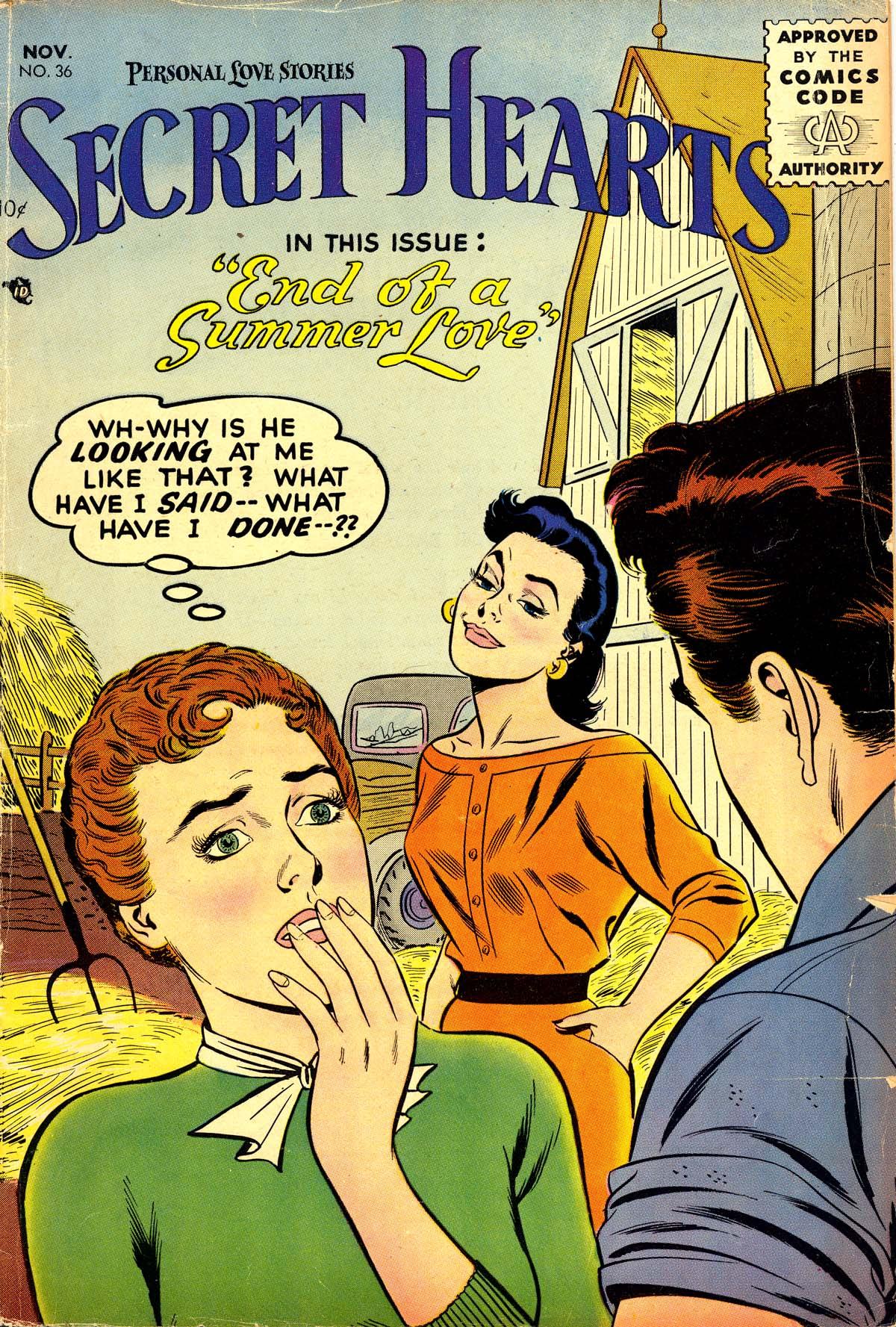 Read online Secret Hearts comic -  Issue #36 - 1