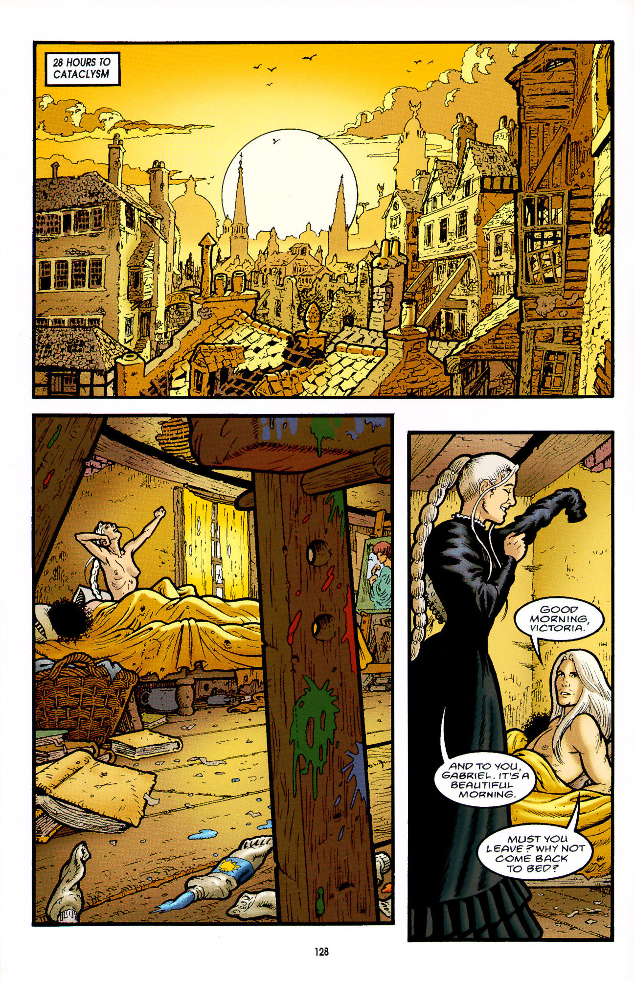 Read online Heart of Empire comic -  Issue #5 - 4