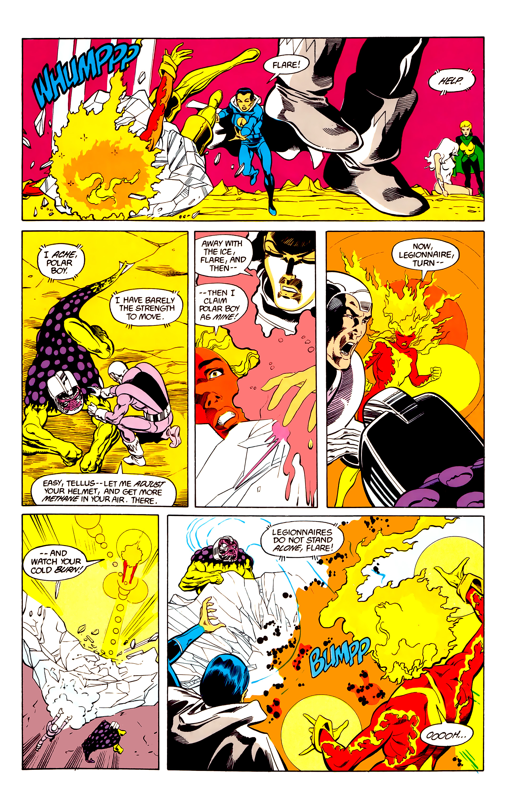Legion of Super-Heroes (1984) 26 Page 20