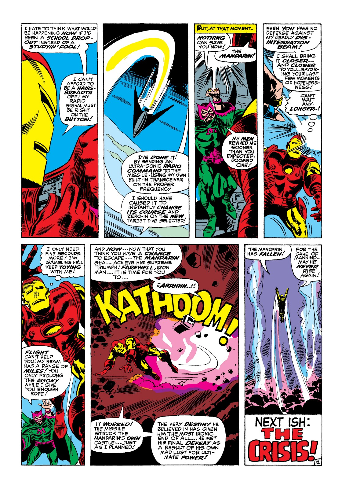 Read online Marvel Masterworks: The Invincible Iron Man comic -  Issue # TPB 4 (Part 1) - 44