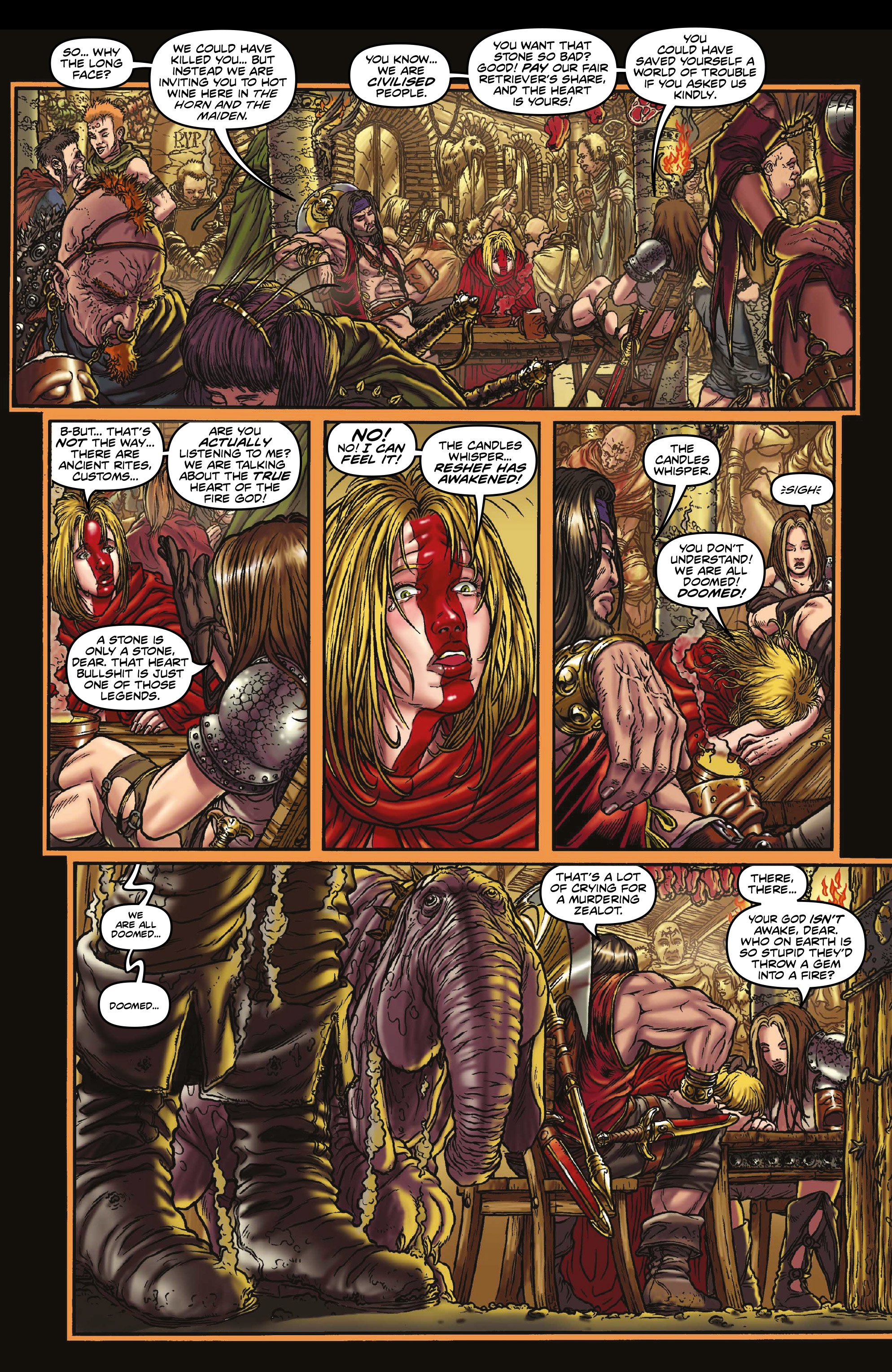 Read online Rogues!: The Burning Heart comic -  Issue #3 - 7