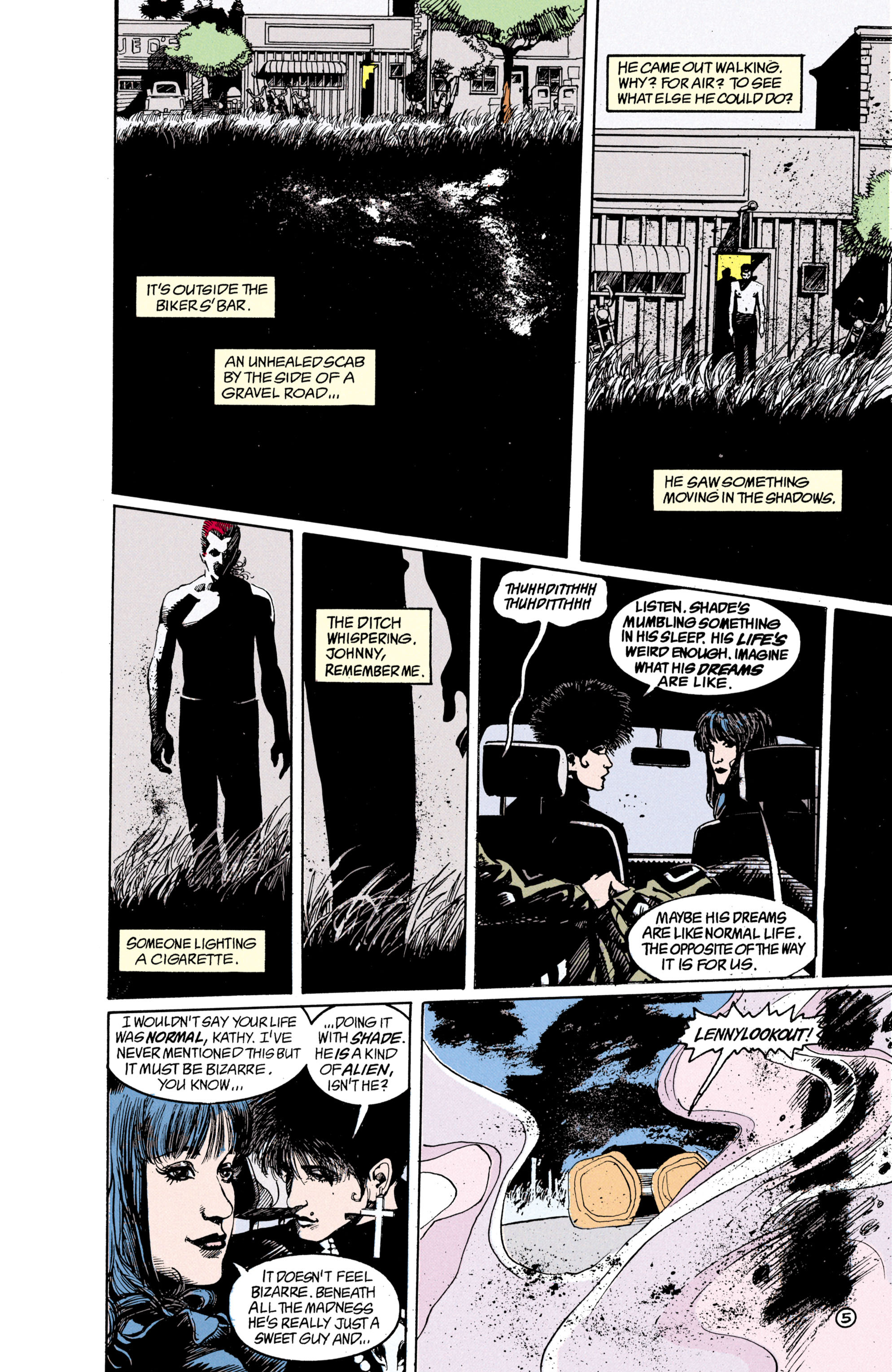 Read online Shade, the Changing Man comic -  Issue #21 - 6