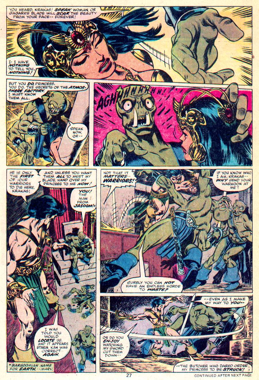 John Carter Warlord of Mars issue 1 - Page 15