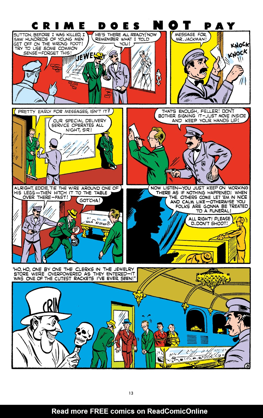 Read online Crime Does Not Pay Archives comic -  Issue # TPB 6 (Part 1) - 15
