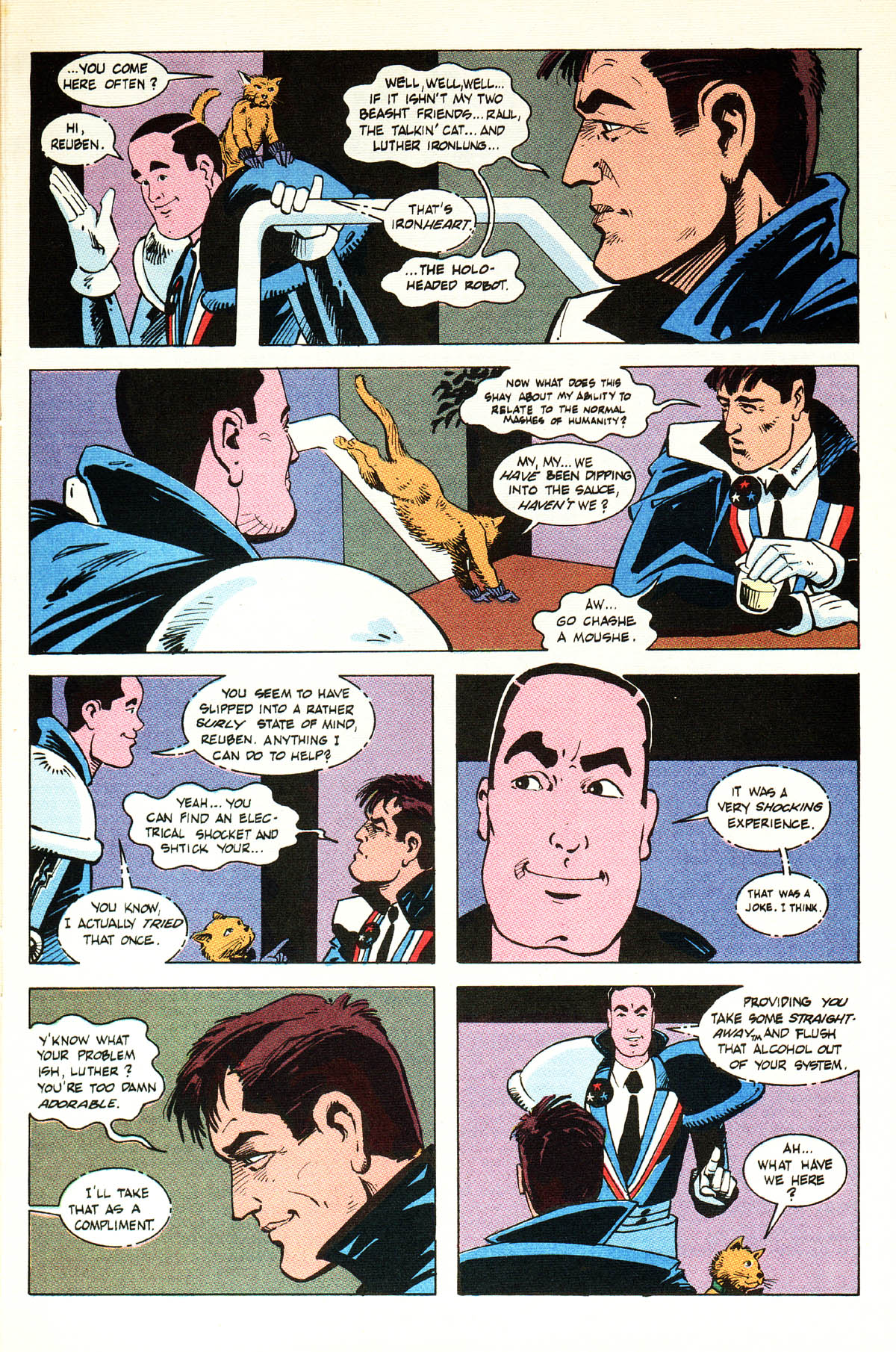 Read online American Flagg! comic -  Issue #38 - 13