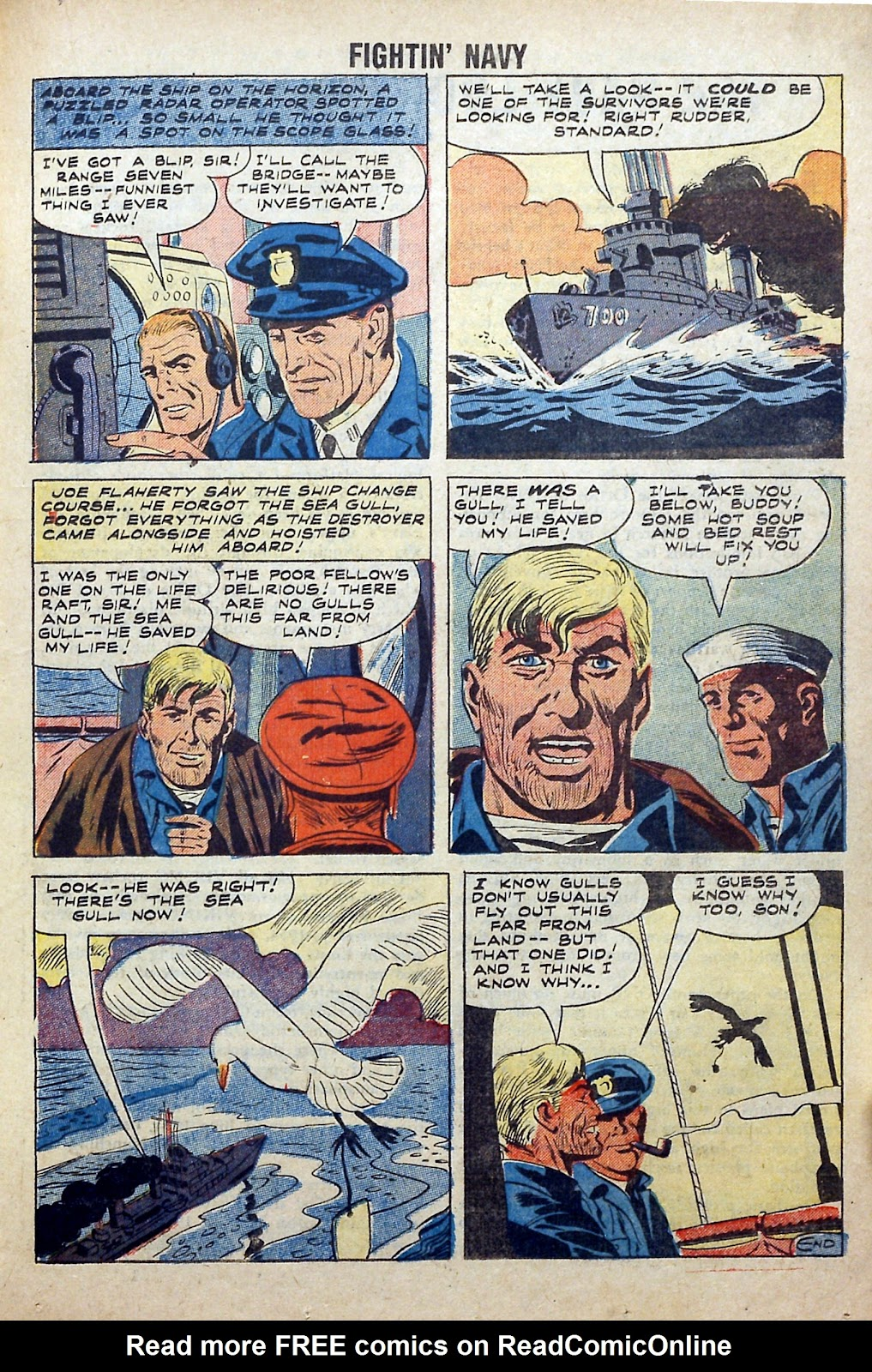 Read online Fightin' Navy comic -  Issue #84 - 19