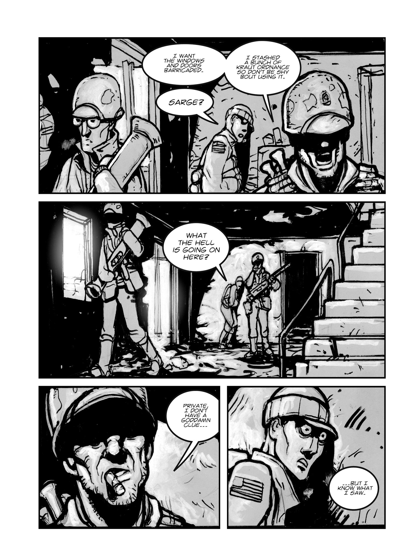 Read online FUBAR comic -  Issue #1 - 40