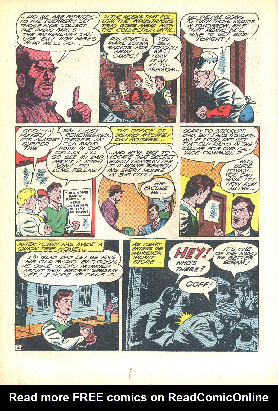 Read online Sensation (Mystery) Comics comic -  Issue #23 - 26