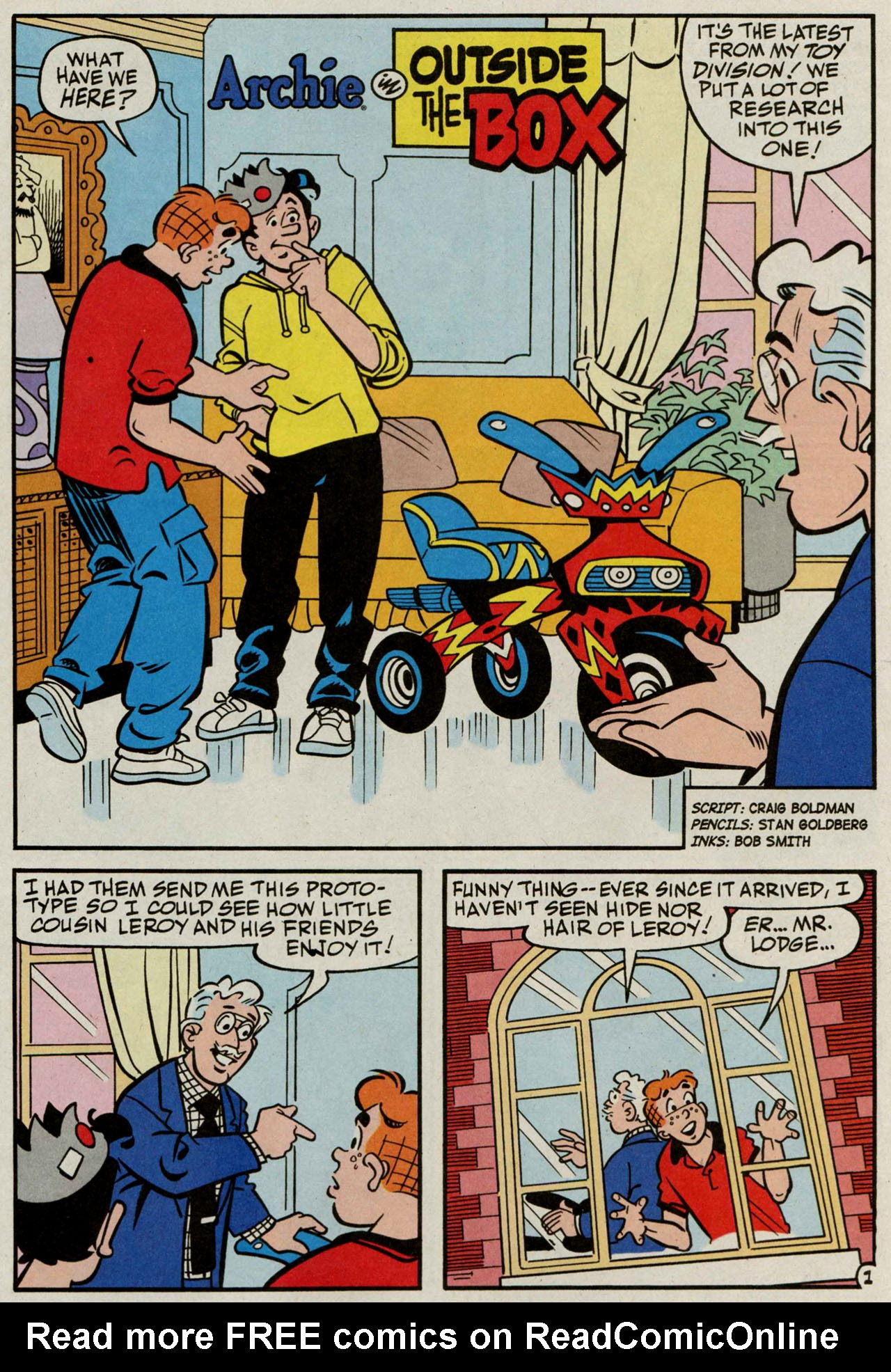 Read online Archie (1960) comic -  Issue #584 - 14
