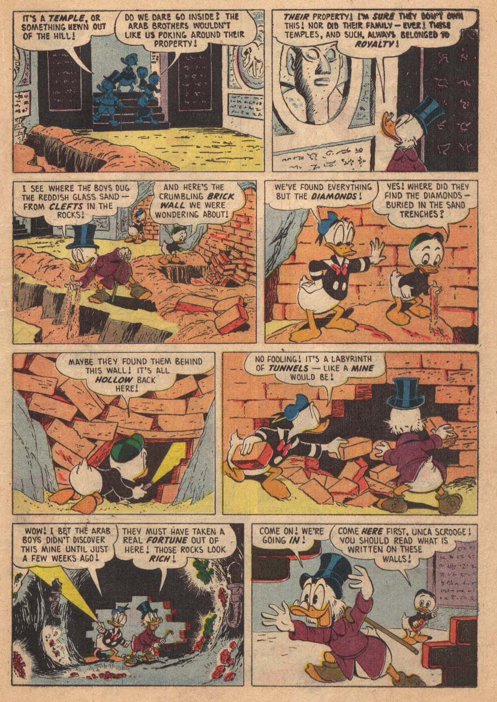 Read online Uncle Scrooge (1953) comic -  Issue #19 - 19