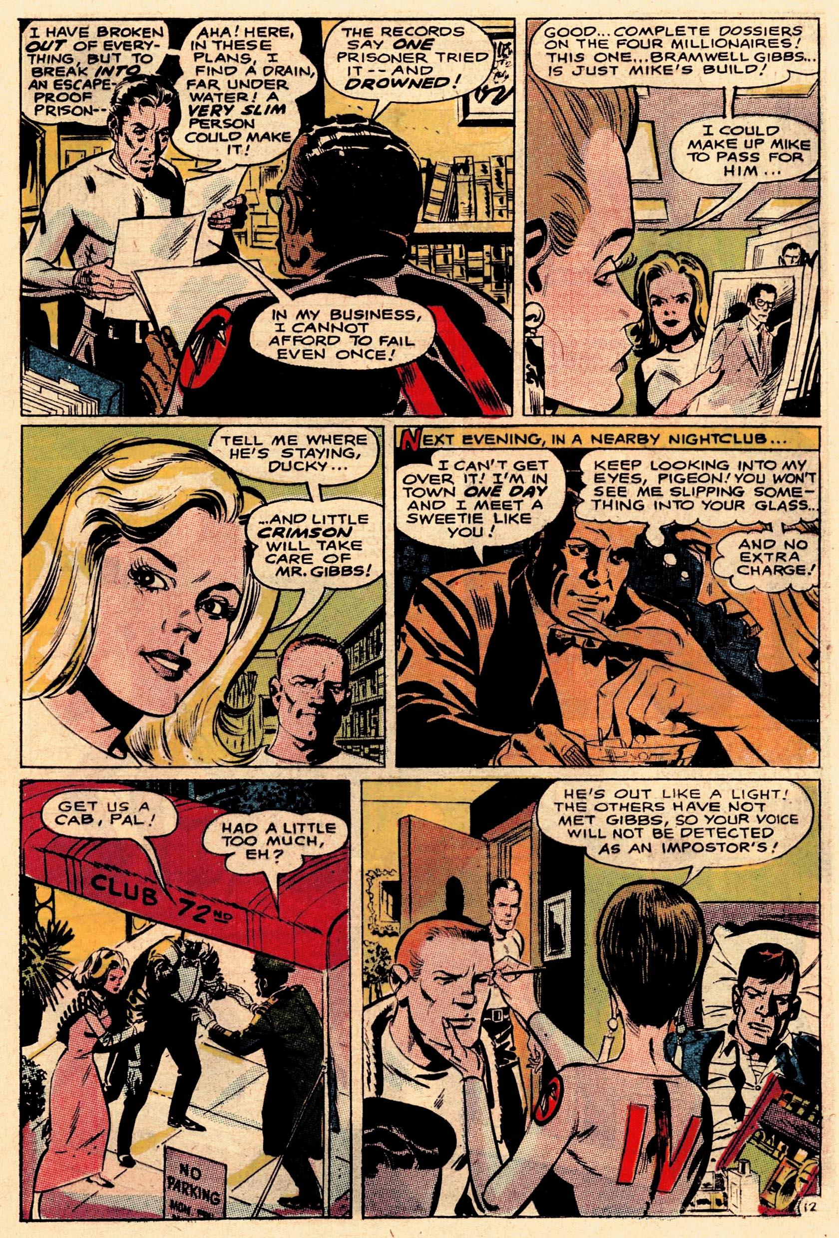 Read online Secret Six (1968) comic -  Issue #1 - 17