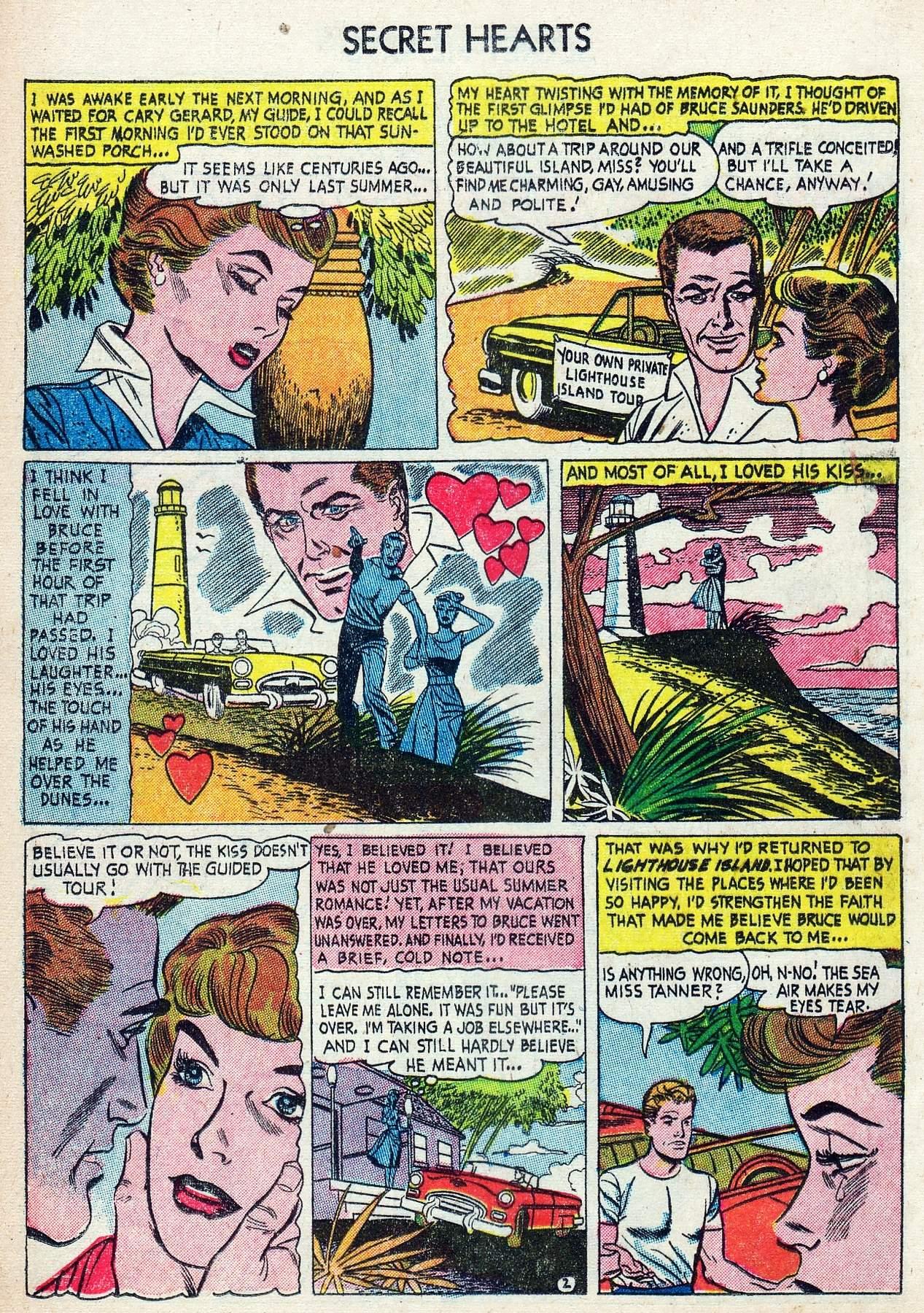 Read online Secret Hearts comic -  Issue #25 - 12