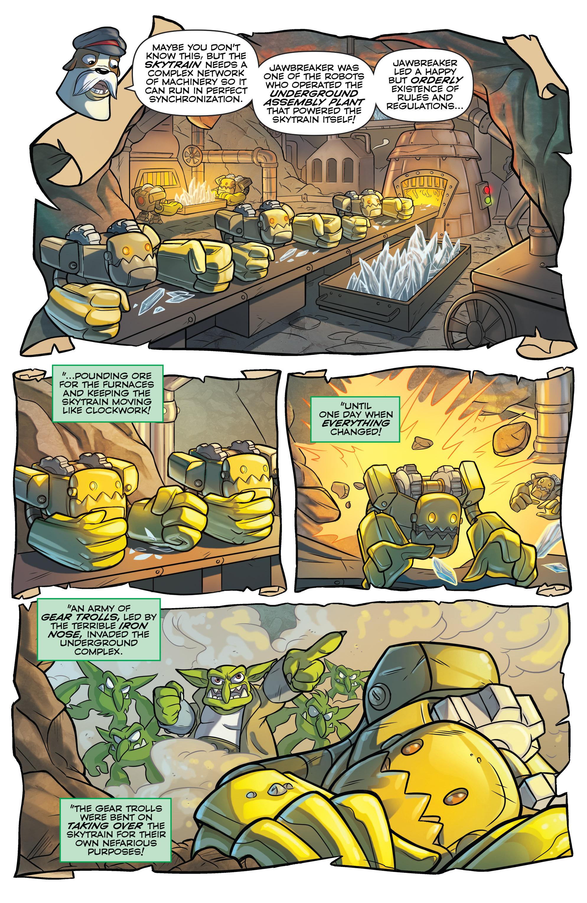Read online Skylanders comic -  Issue #6 - 5