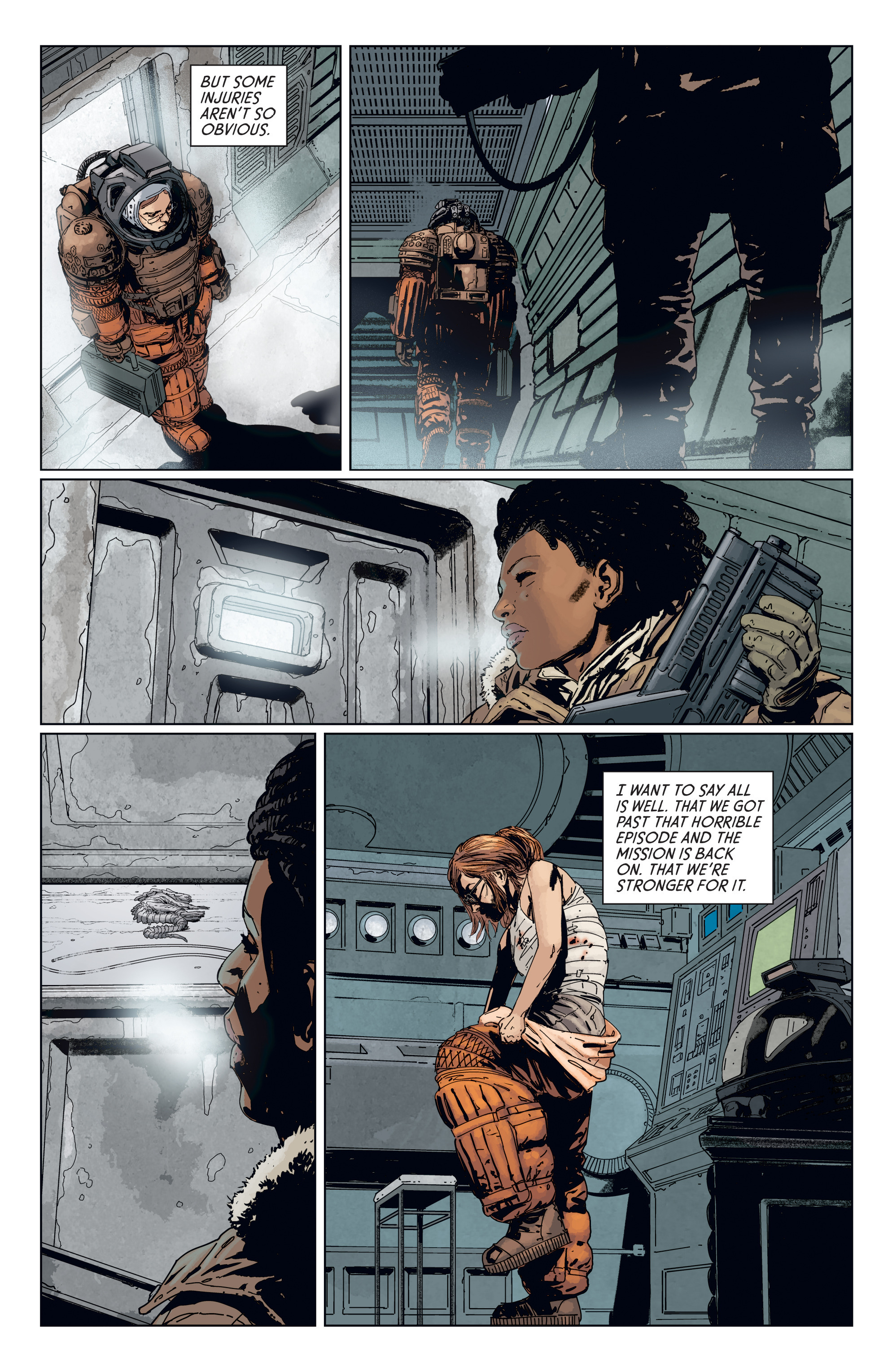 Read online Aliens: Defiance comic -  Issue #7 - 23