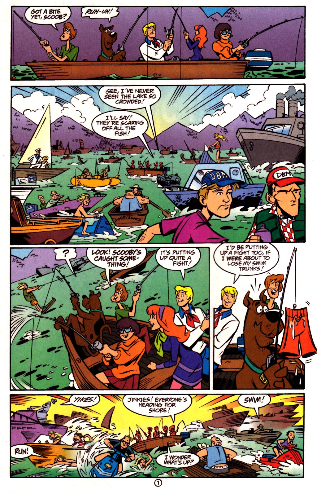 Read online Scooby-Doo (1997) comic -  Issue #23 - 15
